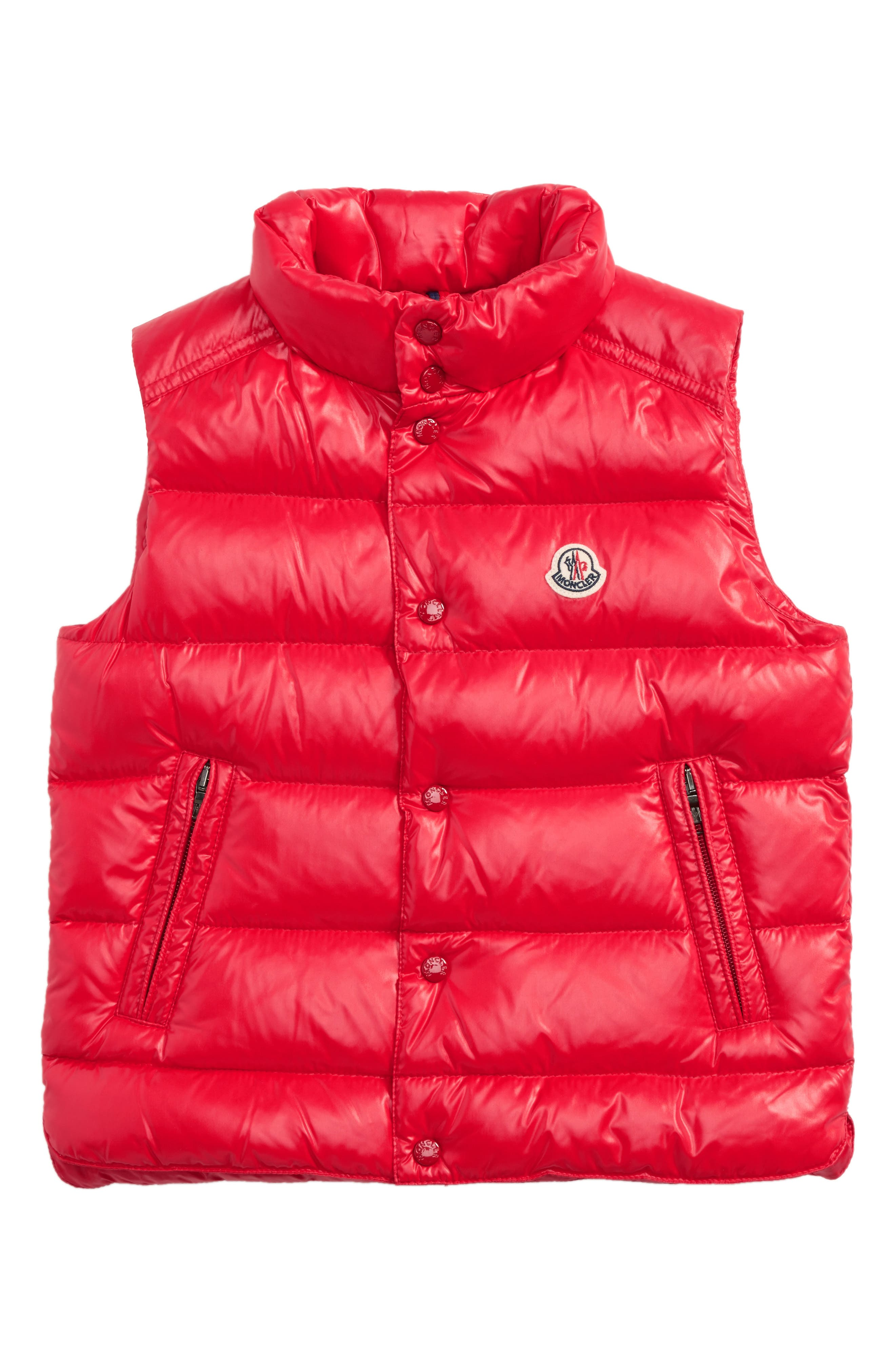 Moncler Tib Water Resistant Shiny Down Puffer Vest (Toddler Boys, Little Boys & Big Boys)