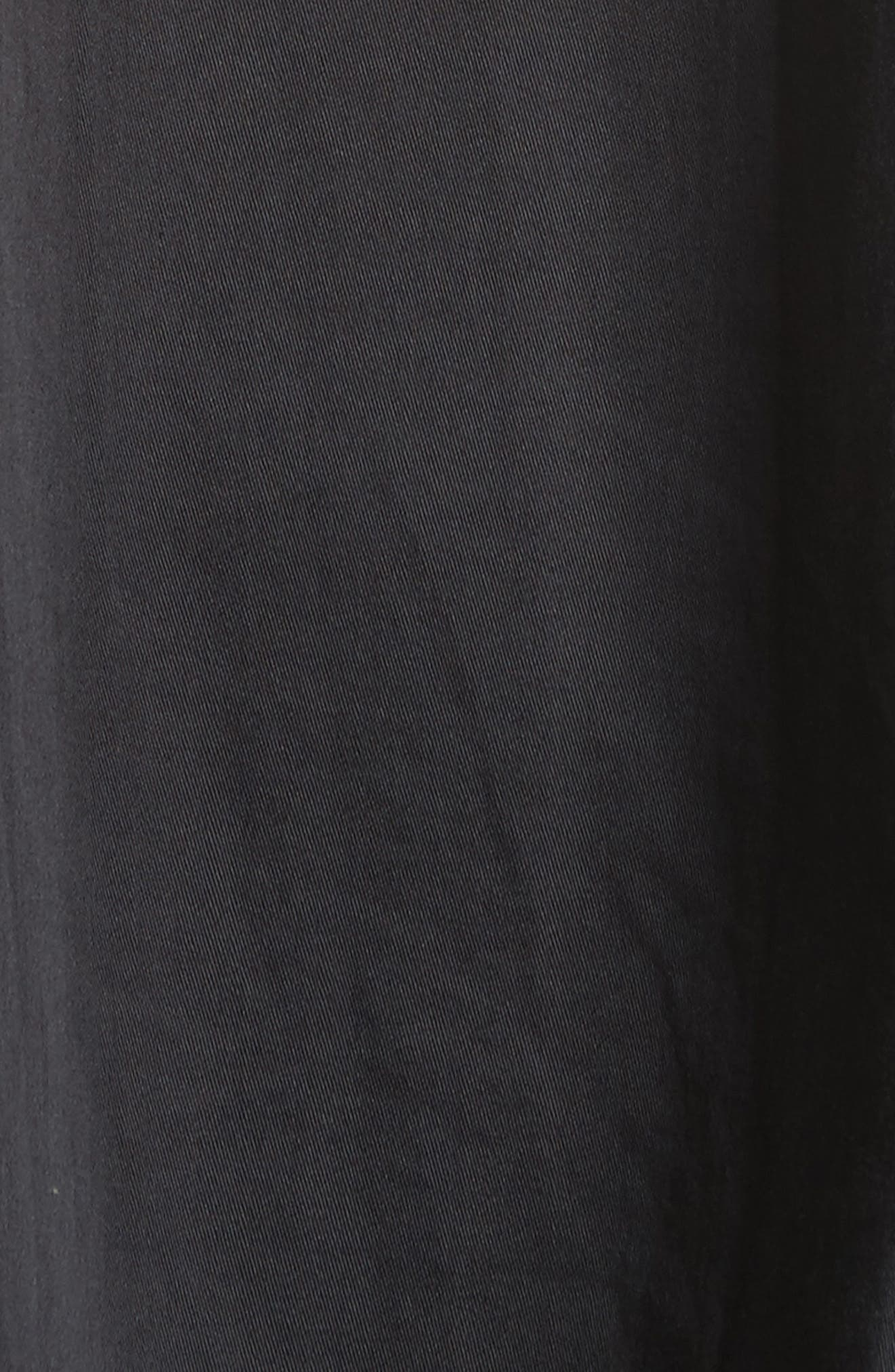 Layered Oversize Tee,                             Alternate thumbnail 6, color,                             Black