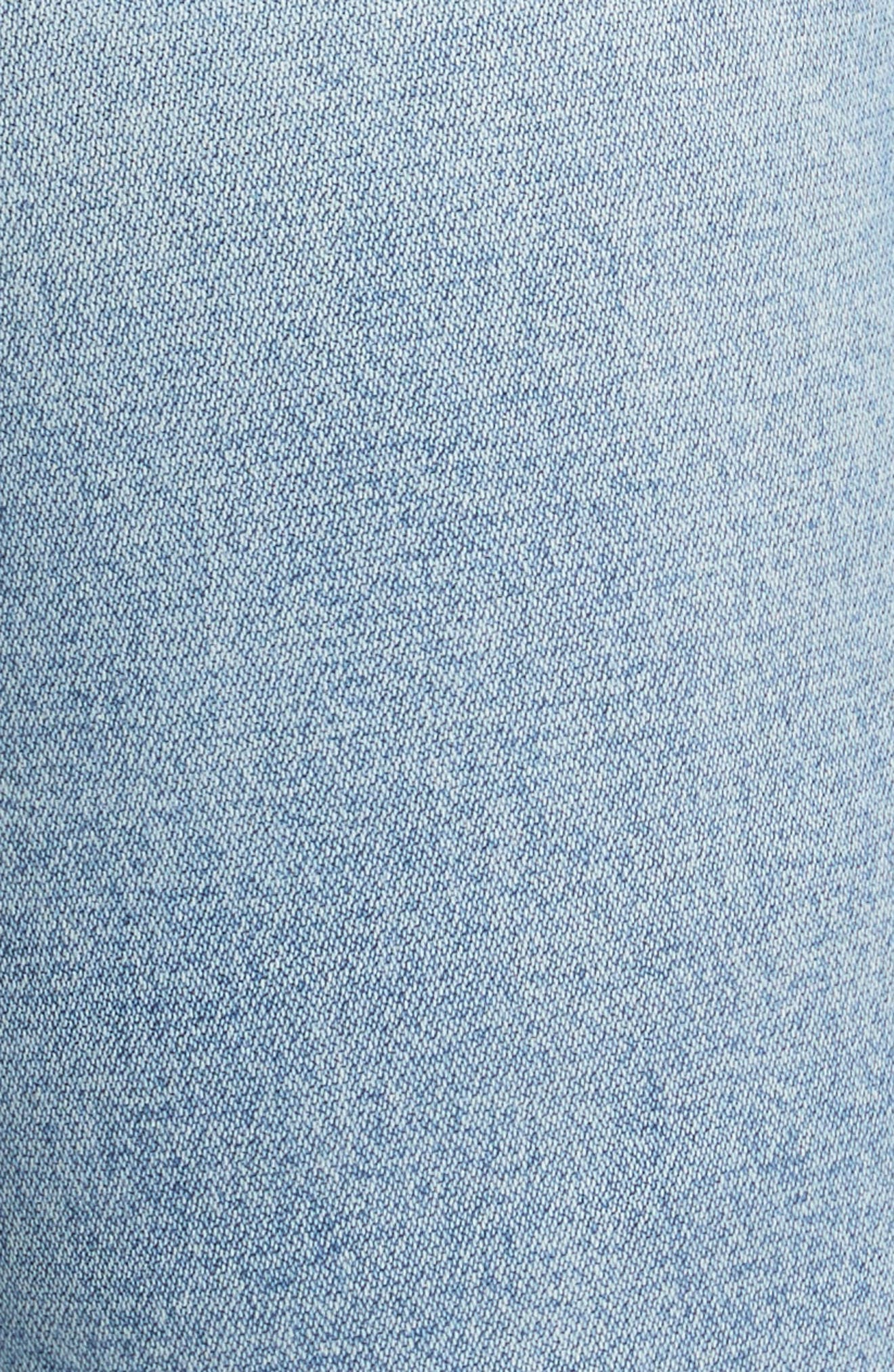 Alternate Image 6  - rag & bone/JEAN Lou High Waist Skinny Jeans (Hotbird)