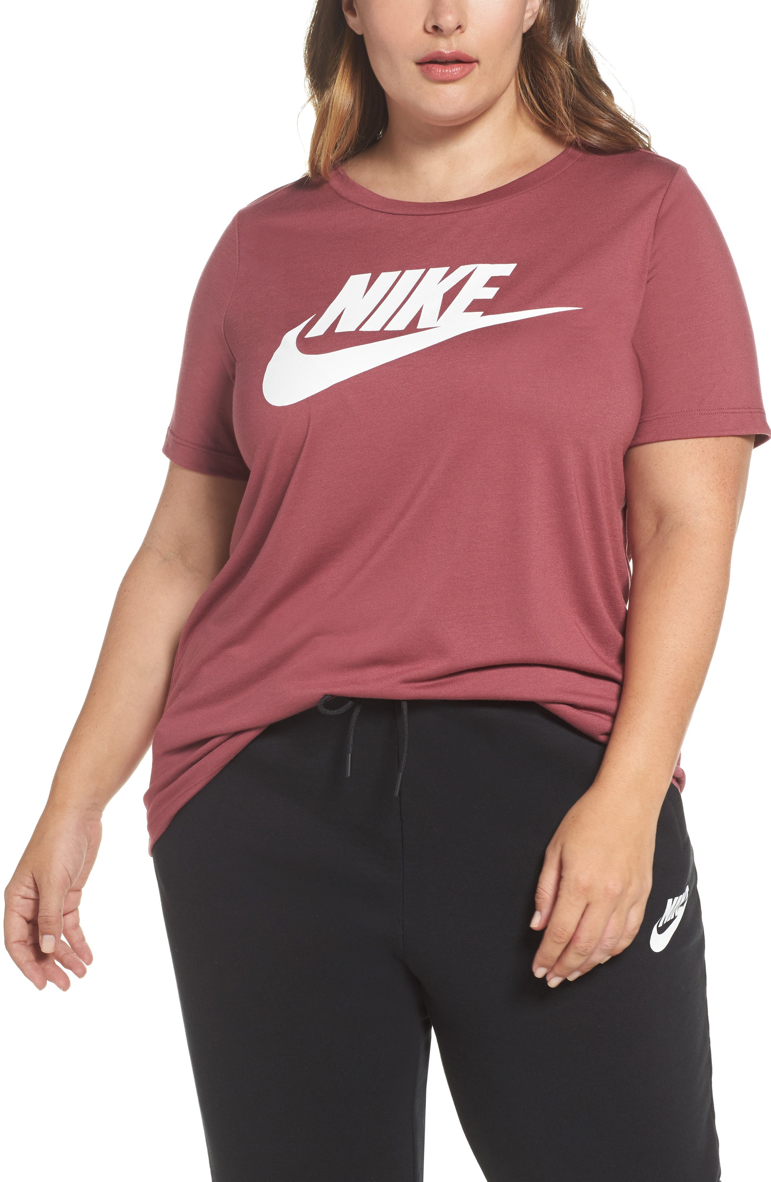 Main Image - Nike Essential Tee (Plus Size)