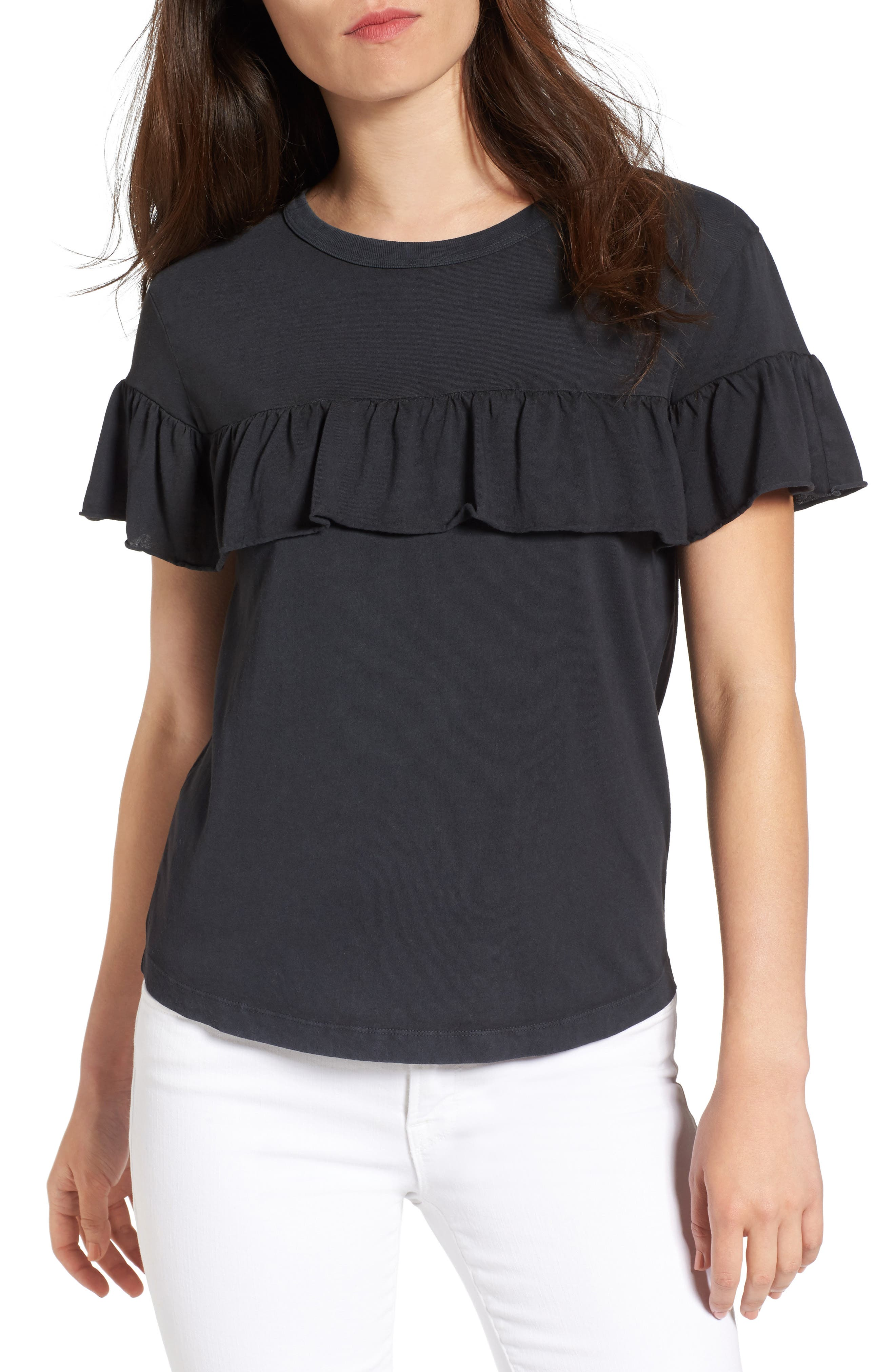 Sincerely Jules Ruffle Tee