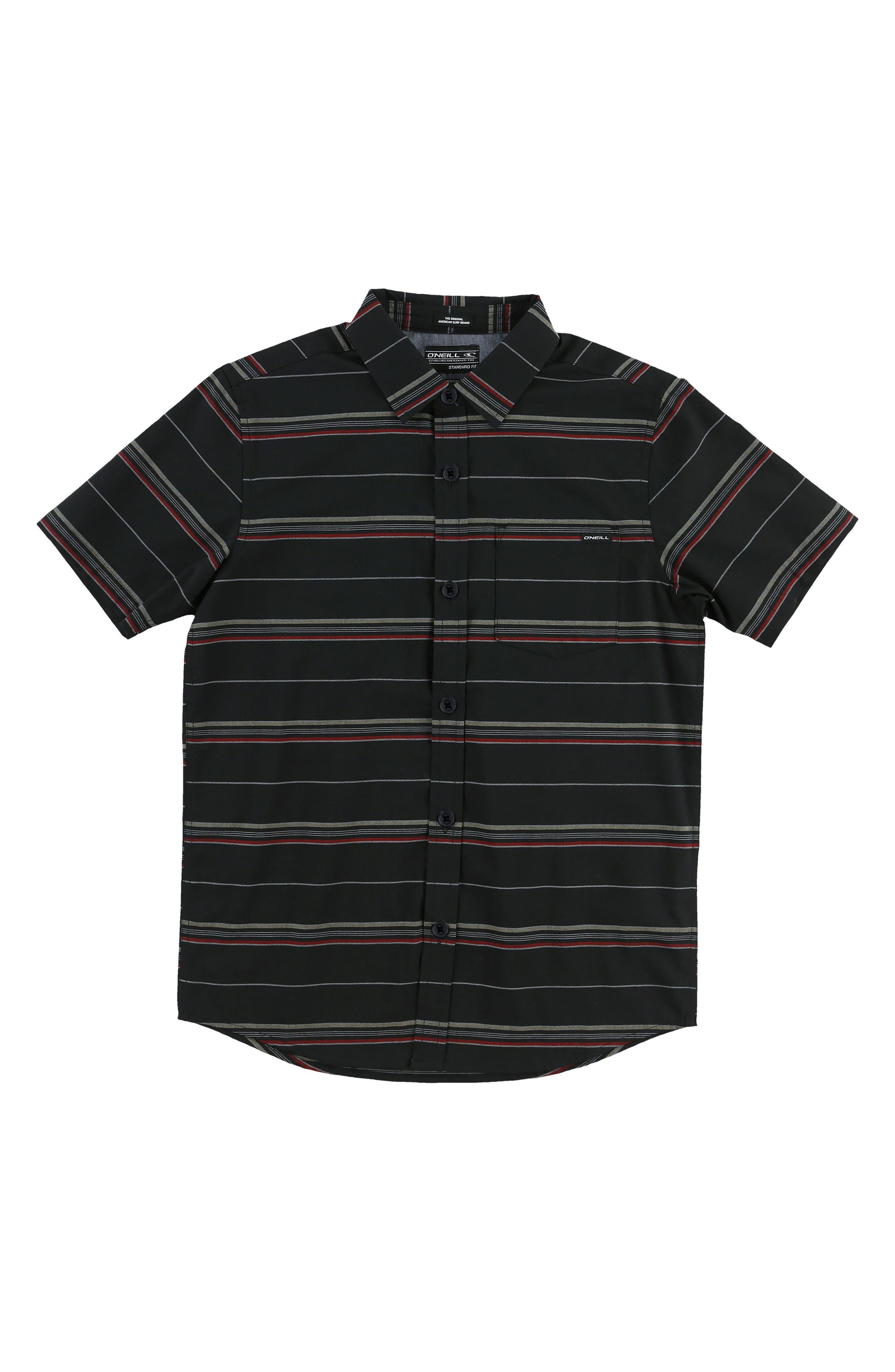 O'Neill Stripe Woven Shirt (Big Boys)