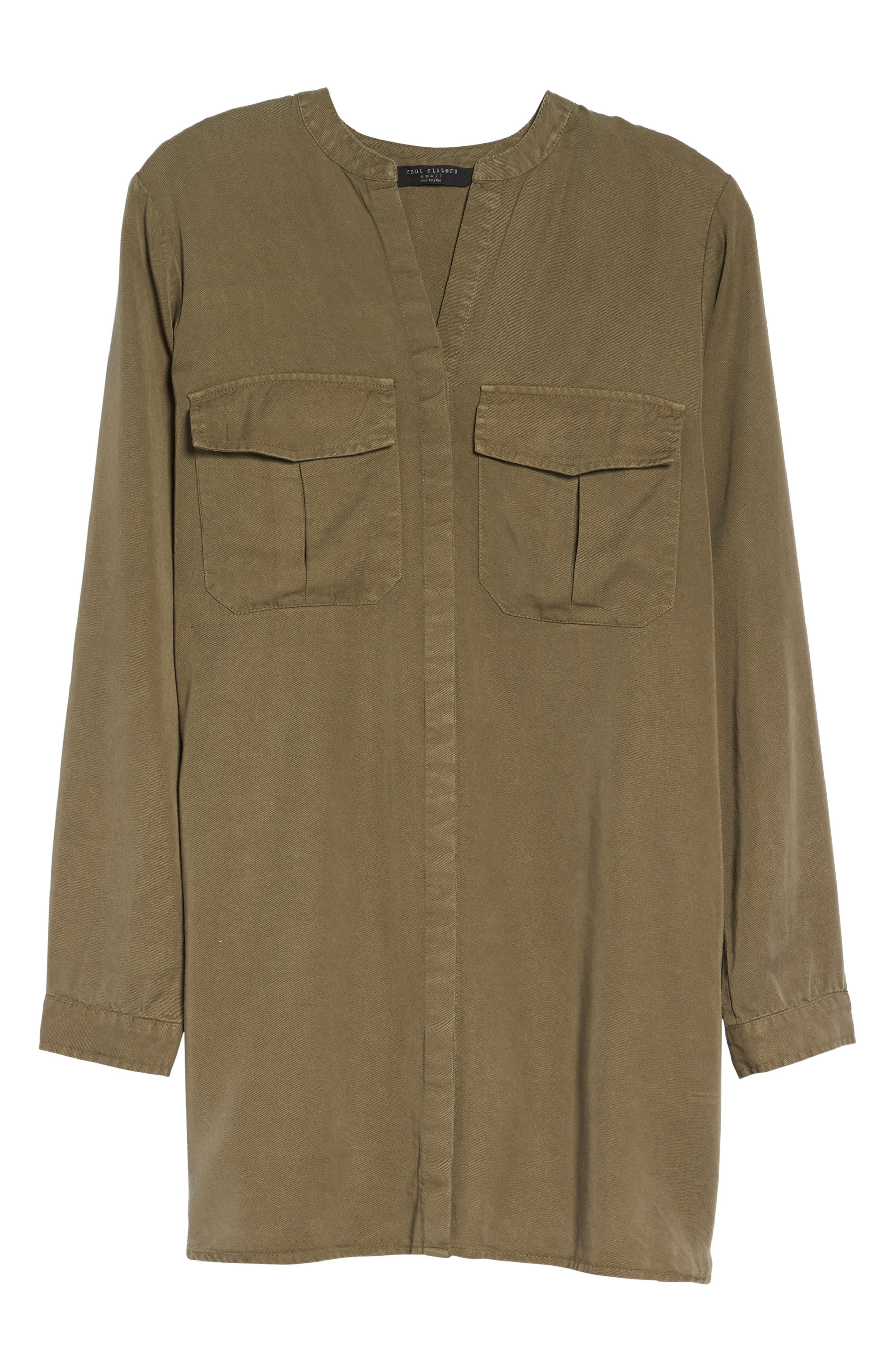 Alternate Image 6  - Knot Sisters Cooper Shirtdress