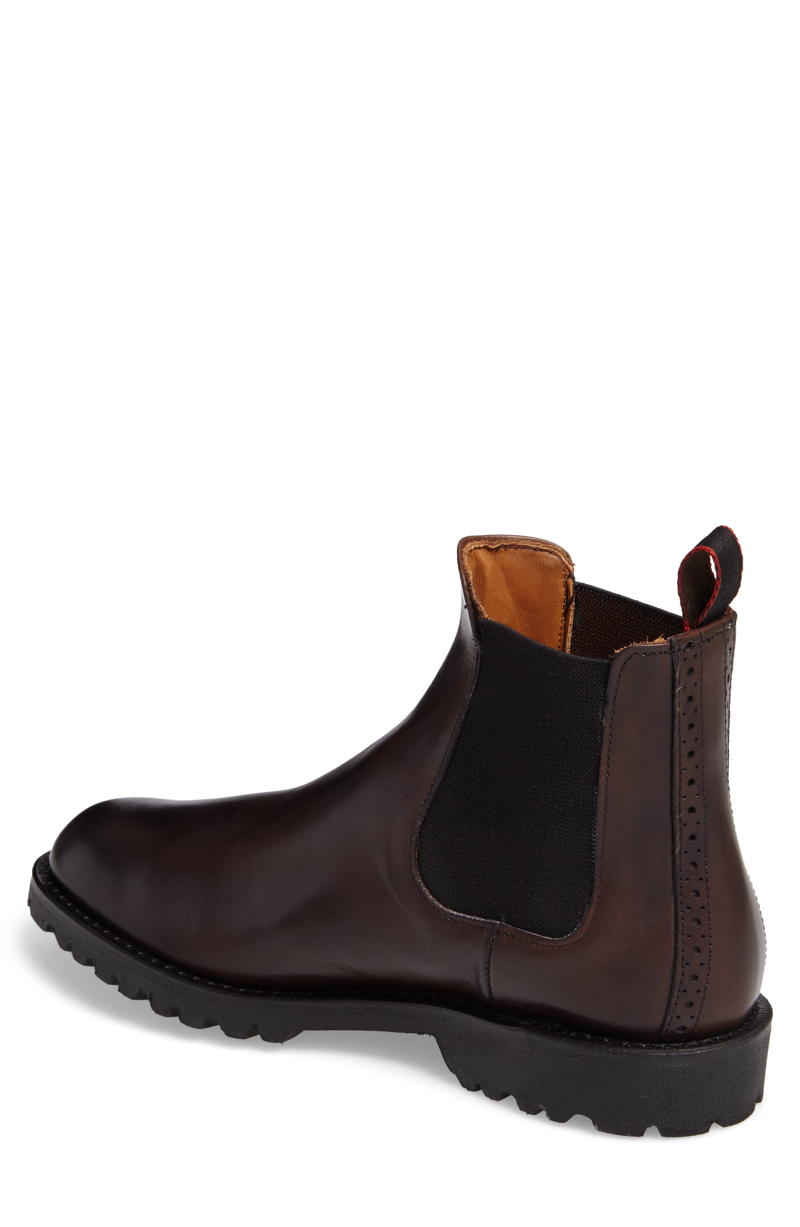 Tate Chelsea Boot,                             Alternate thumbnail 2, color,                             Brown Leather
