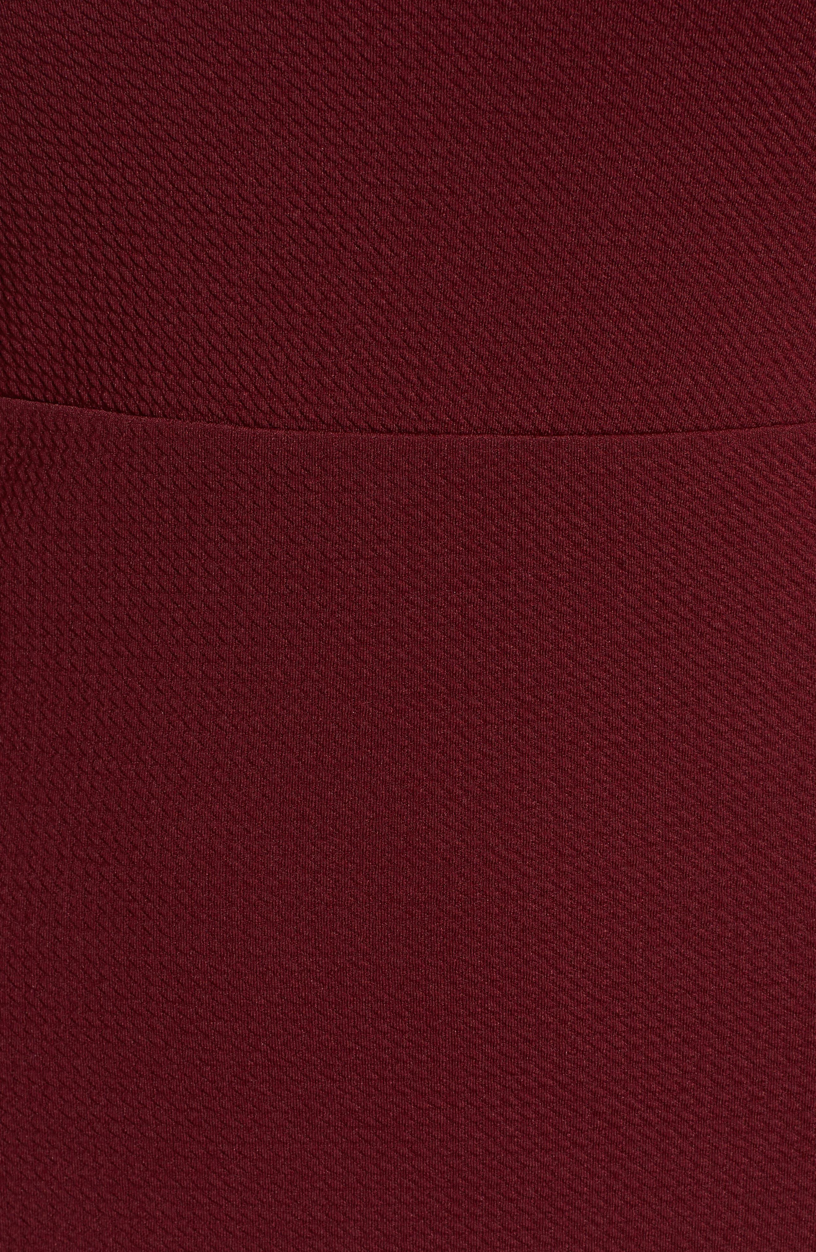 Alternate Image 5  - Soprano Ruffle Hem Knit Dress