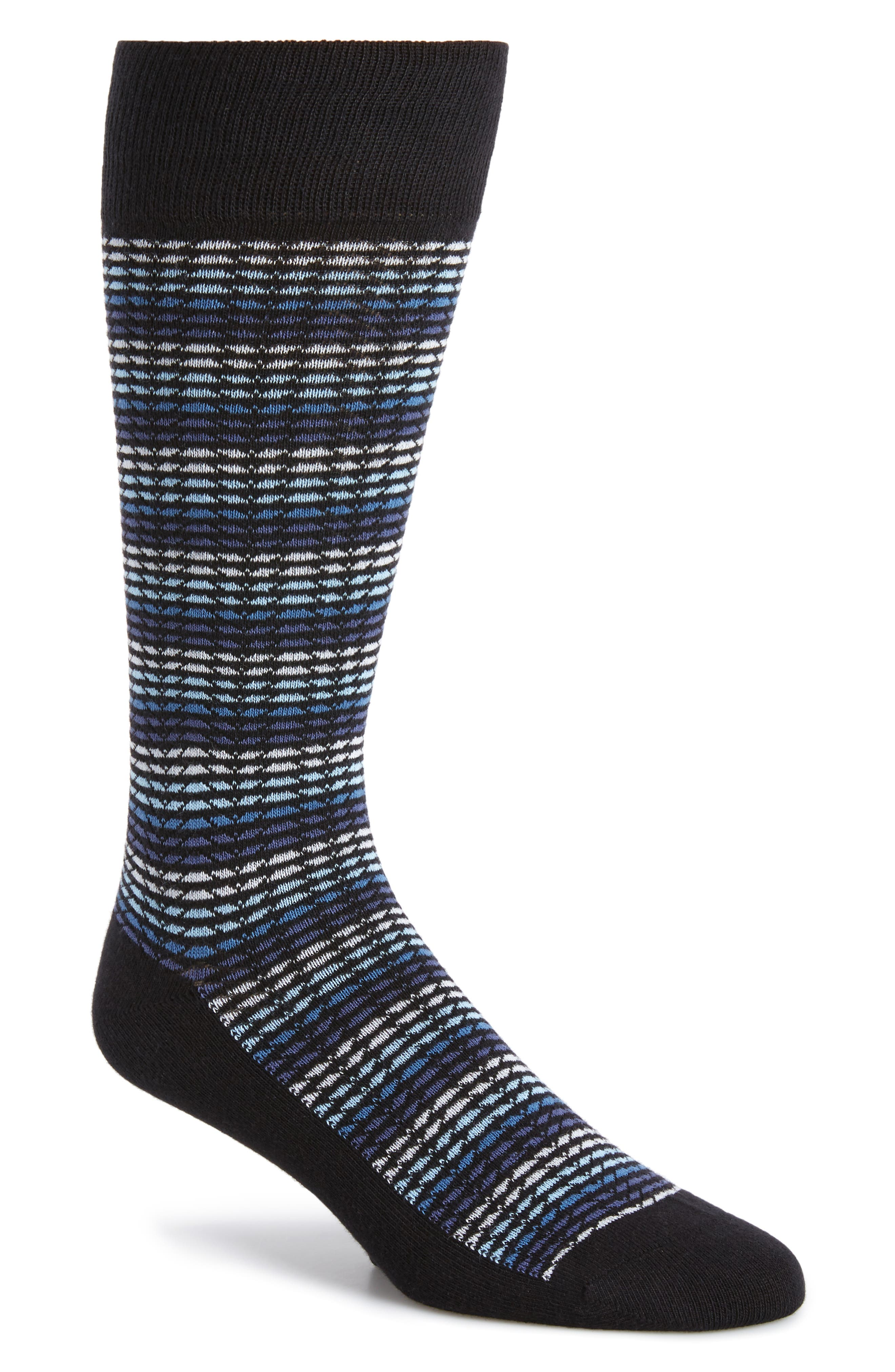 CALIBRATE Herringbone Stripe Socks