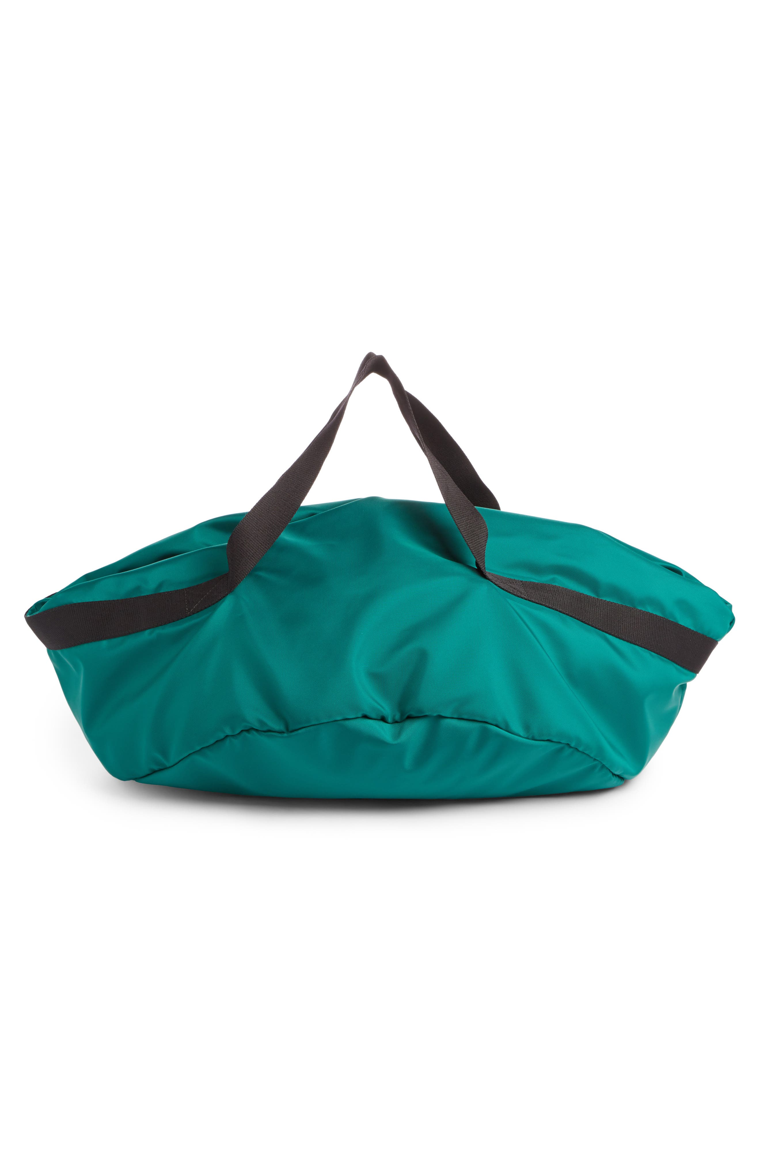 Small Wheel Bag,                             Alternate thumbnail 2, color,                             Vert Emeraude/ Noir