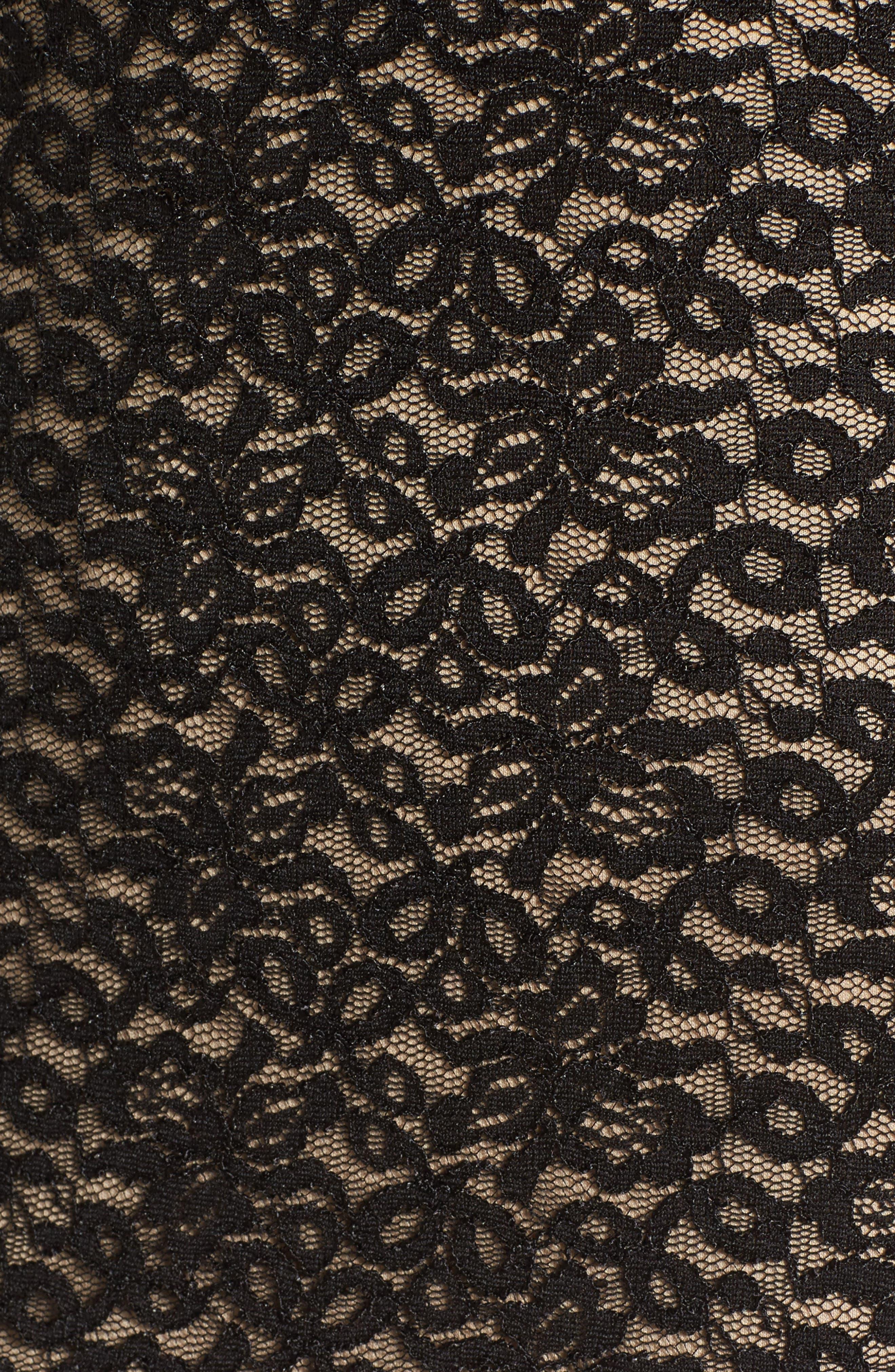 Alternate Image 5  - Soprano Lace Body Con Dress