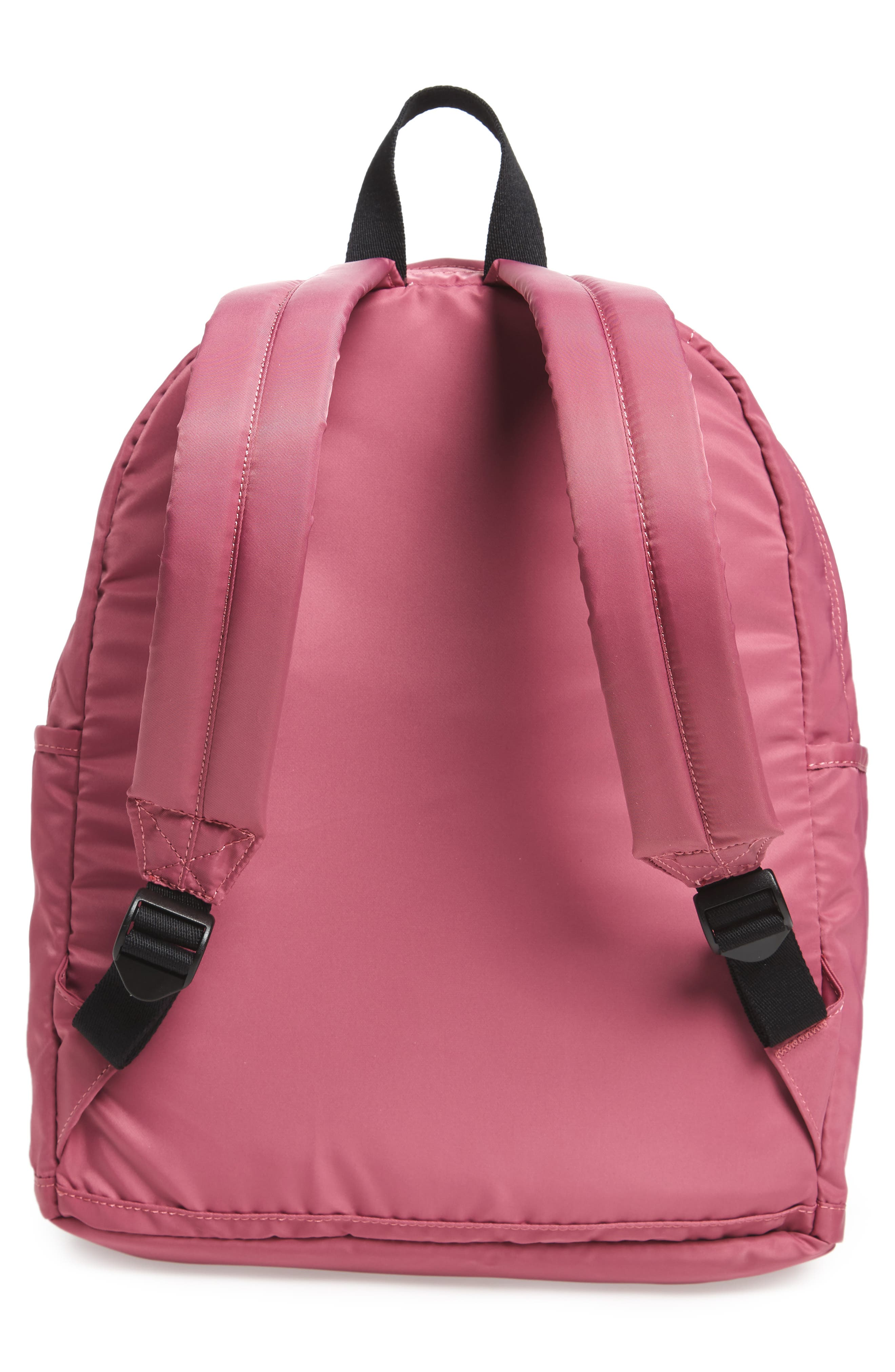 The Heights Kent Backpack,                             Alternate thumbnail 3, color,                             Red Violet