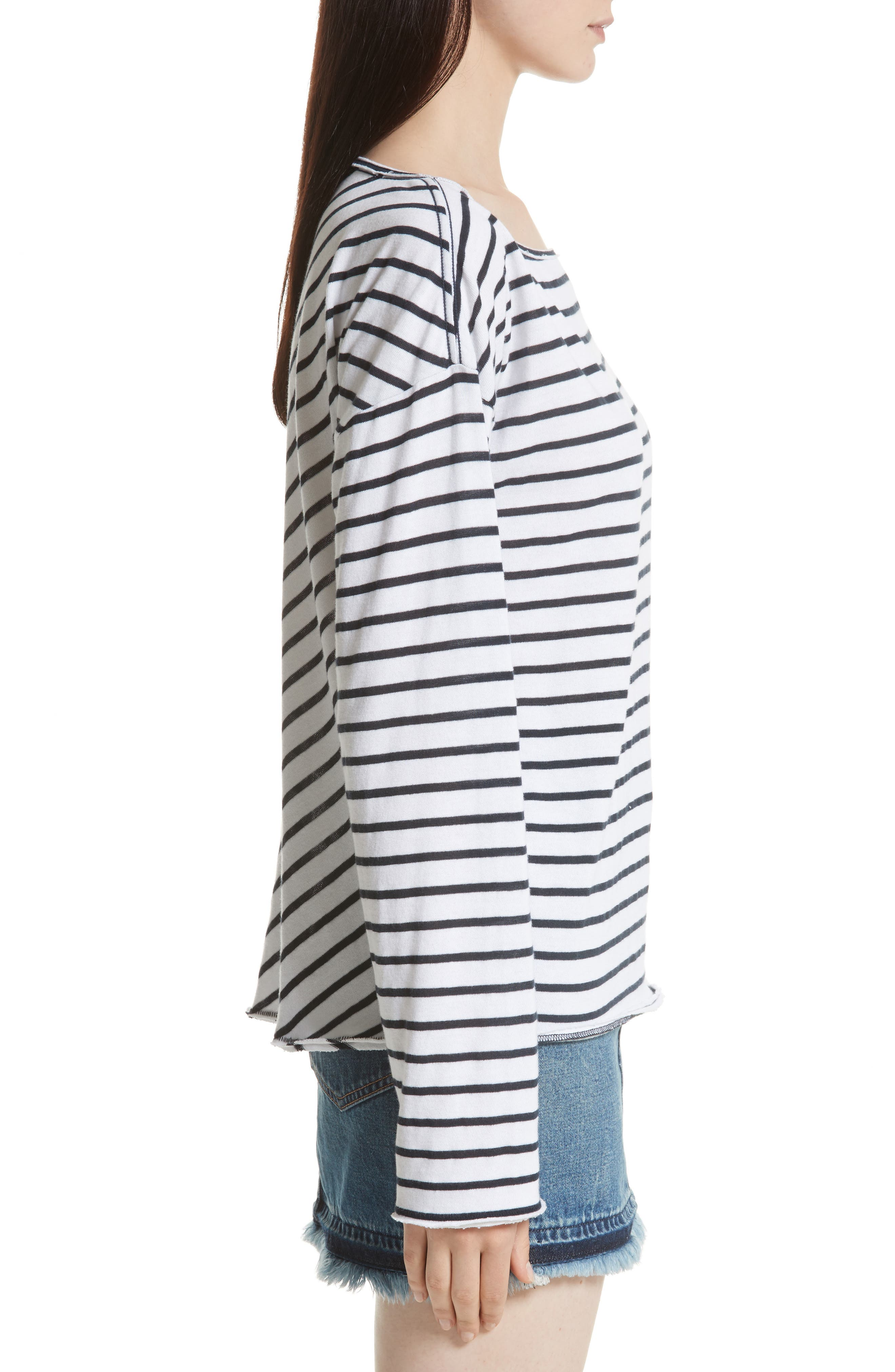 Alternate Image 4  - rag & bone/JEAN Dakota Long Sleeve Tee