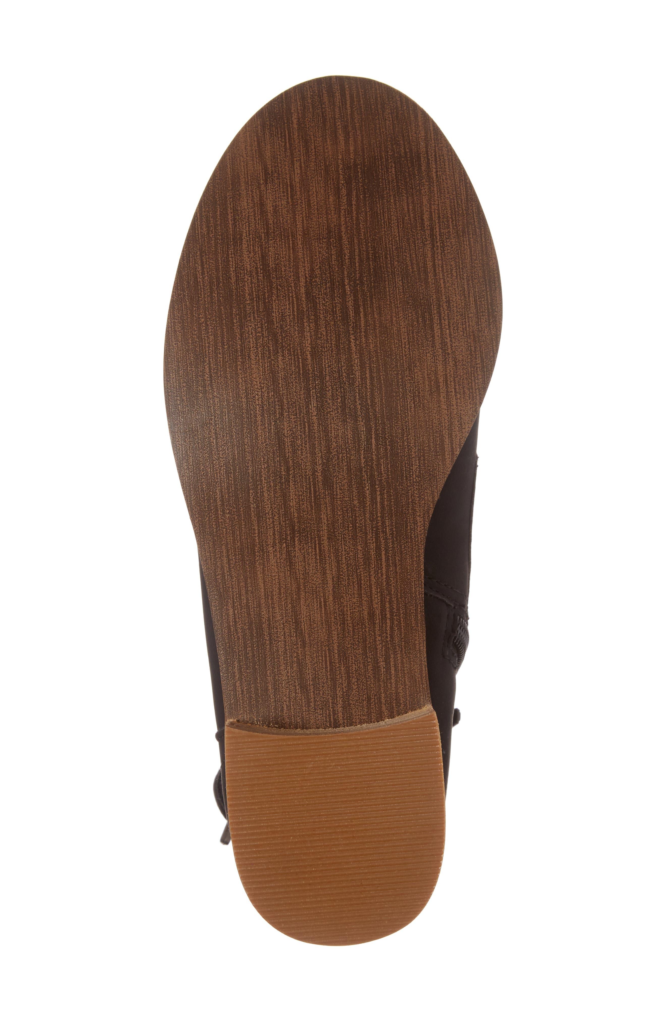 Drea Boot,                             Alternate thumbnail 6, color,                             Black Faux Leather