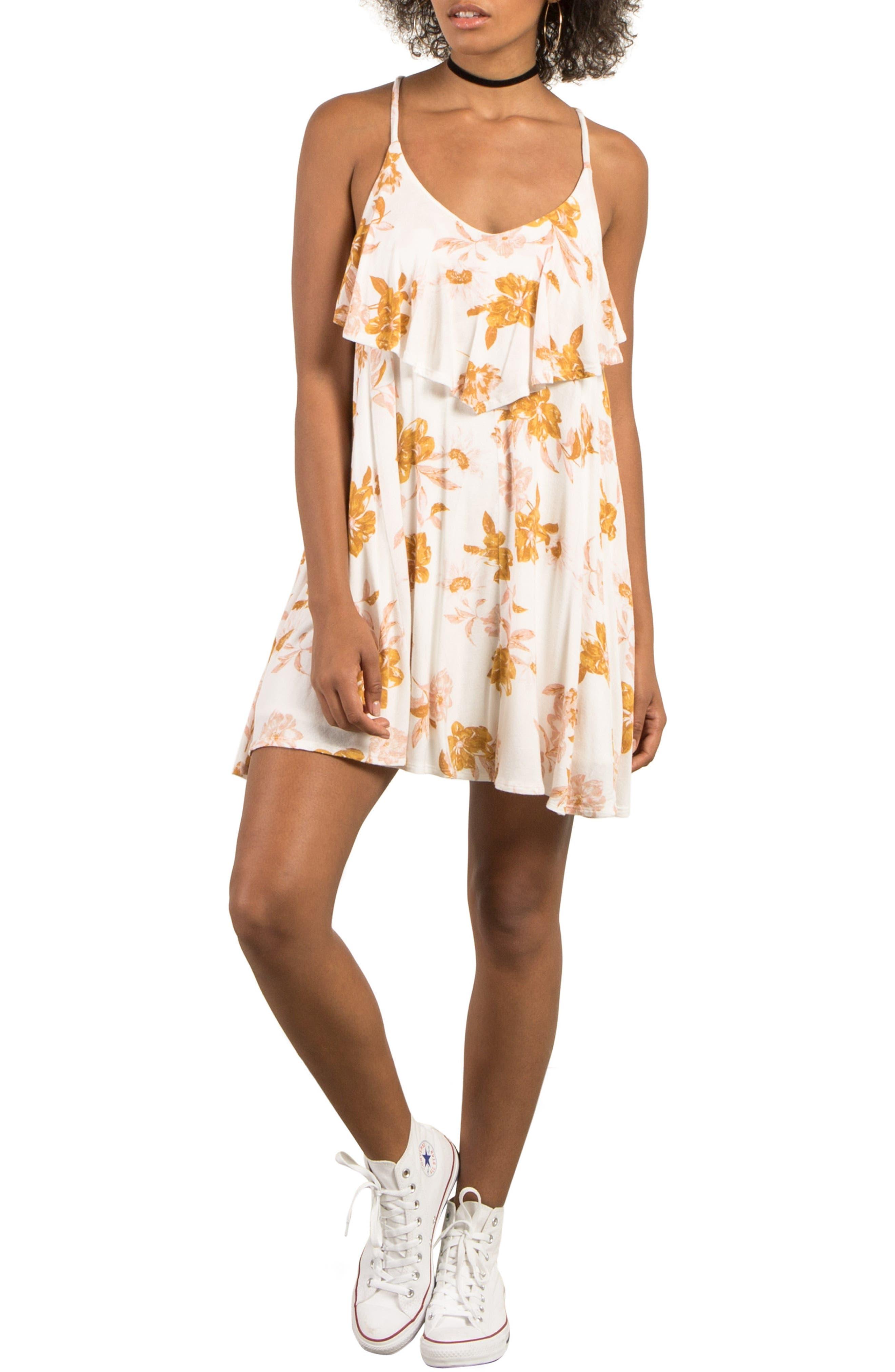 Alternate Image 1 Selected - Volcom Hey Slims Dress