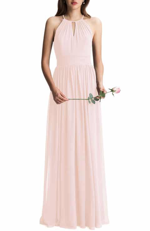Chiffon bridesmaid wedding party dresses nordstrom for Nordstrom wedding party dresses