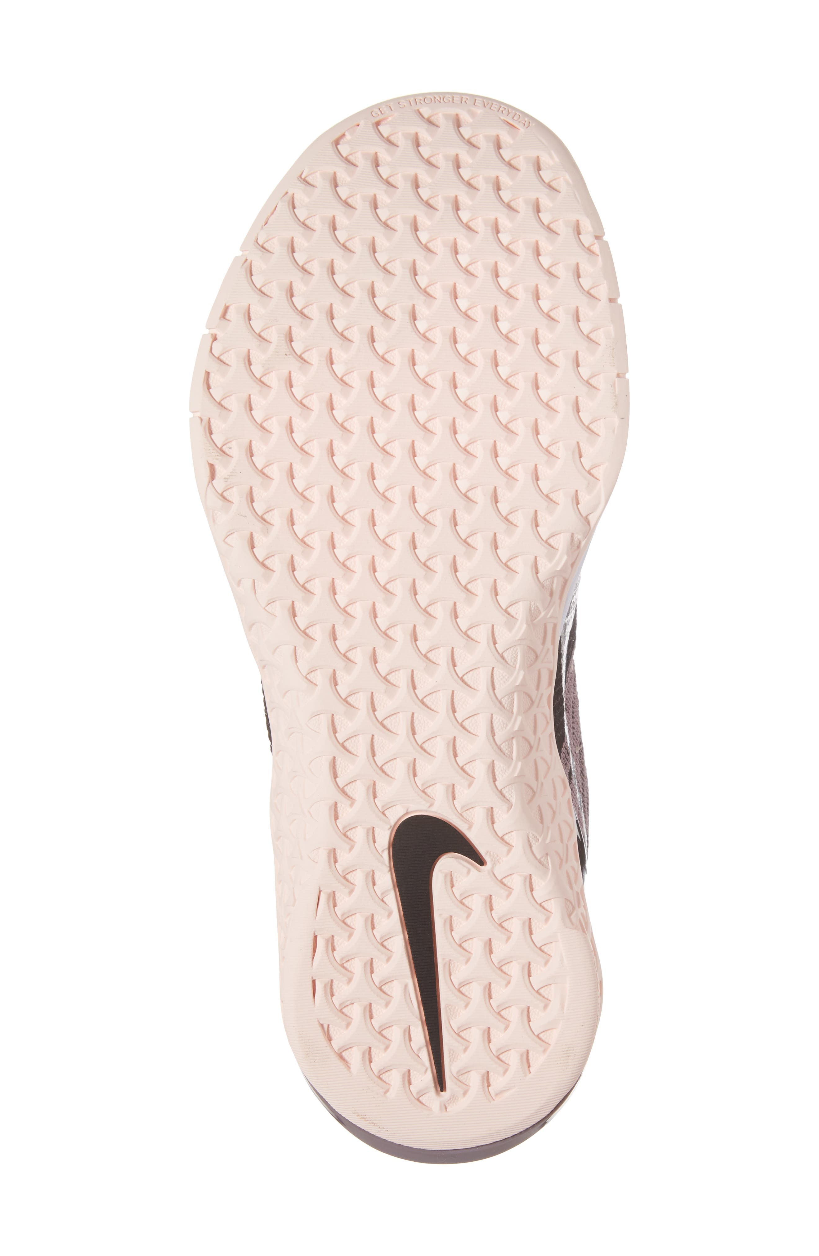Alternate Image 6  - Nike Metcon DSX Flyknit Chrome Blush Training Shoe (Women)