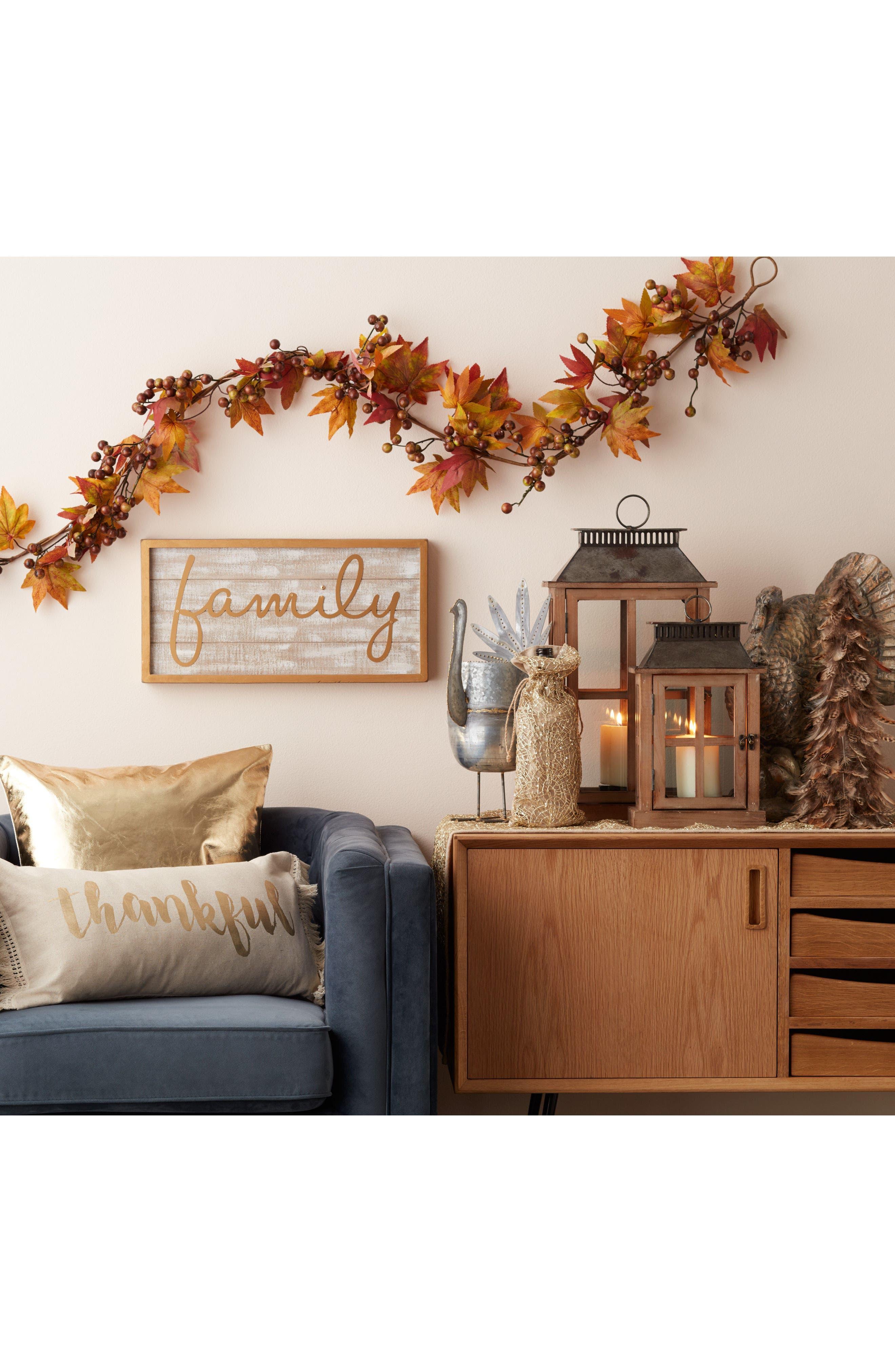 Alternate Image 6  - Melrose Gifts Decorative Wood & Metal Lantern