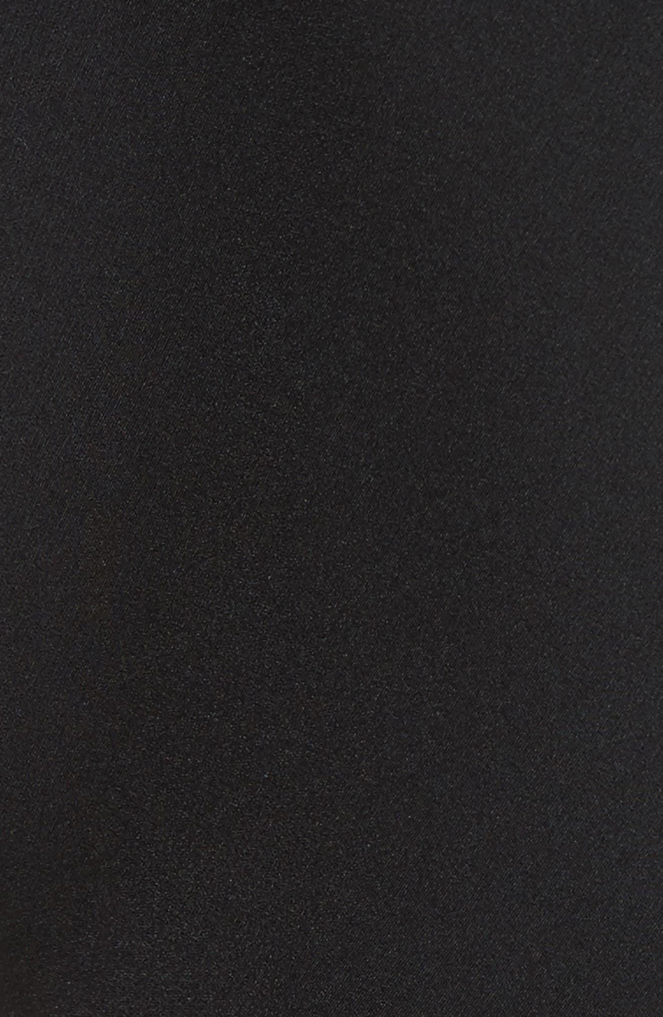 Architectural Pencil Dress,                             Alternate thumbnail 5, color,                             Black