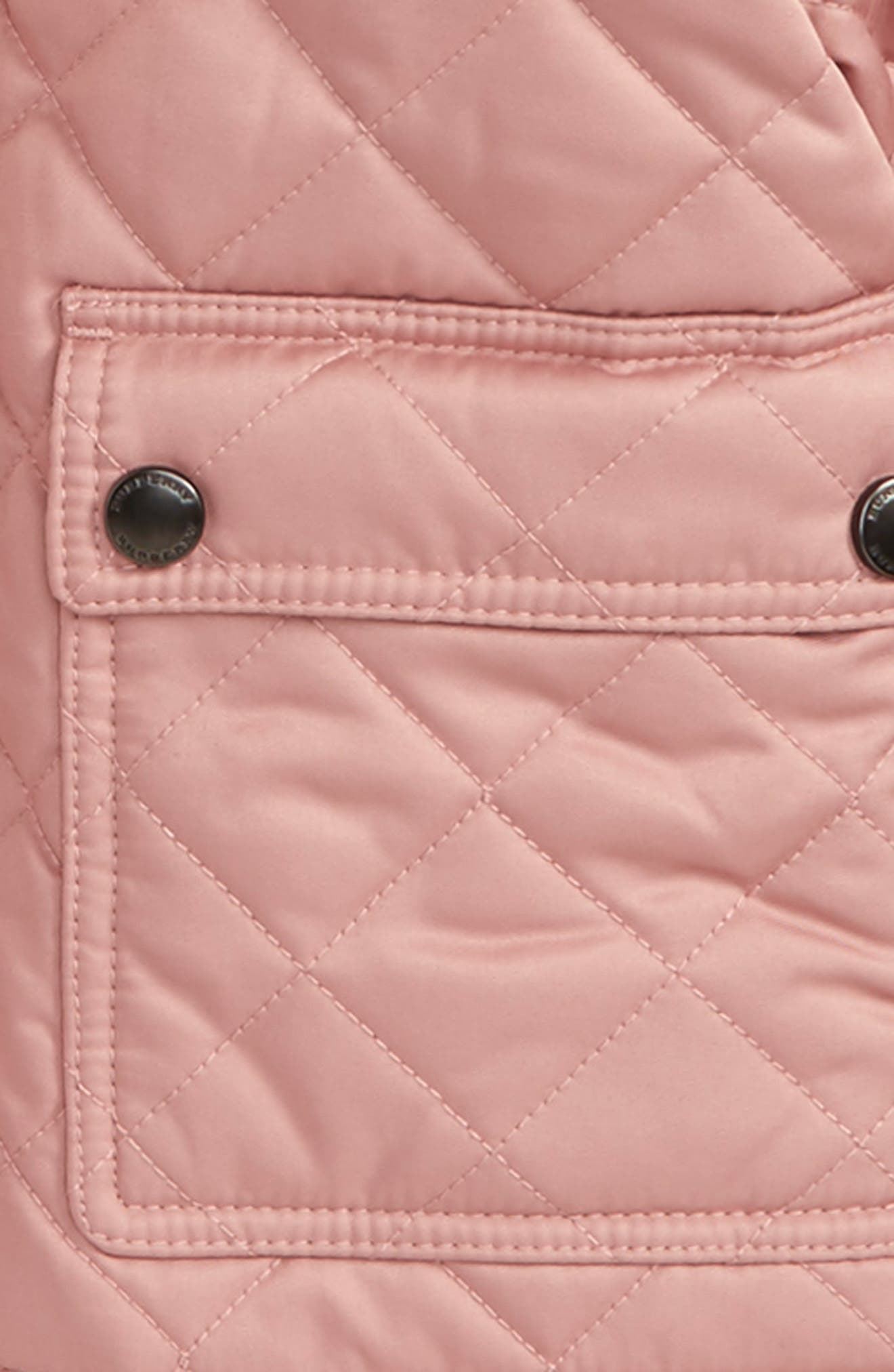 Alternate Image 2  - Burberry Jamie Quilted Hooded Puffer Jacket (Toddler Girls)