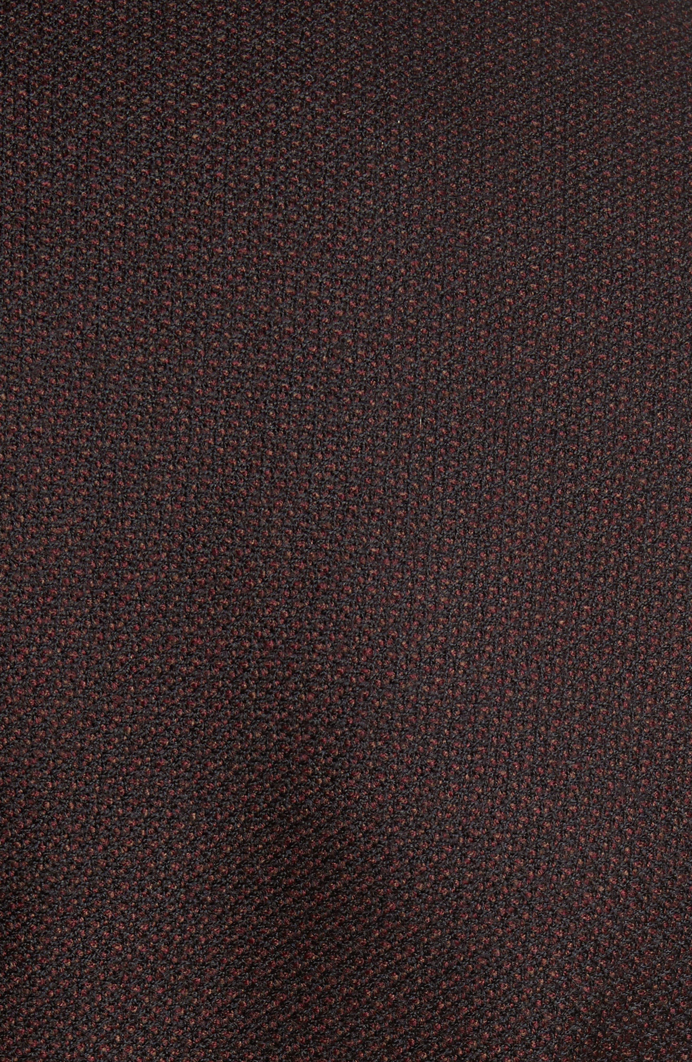 Trim Fit Wool Sport Coat,                             Alternate thumbnail 5, color,                             Bordeaux