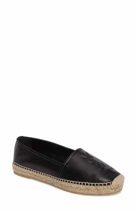 ca25d3cd7df Saint Laurent Logo Espadrille (Women)