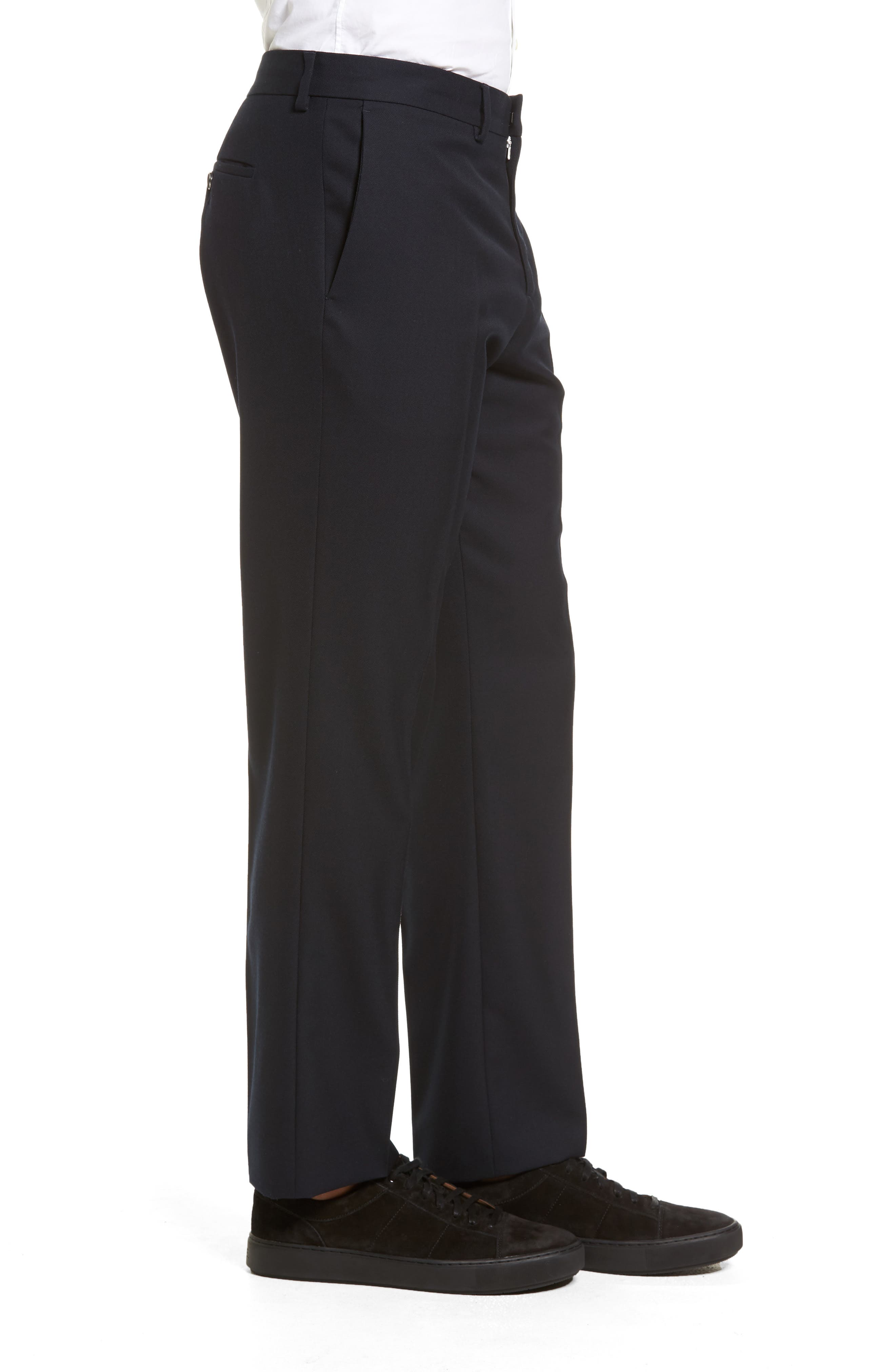 Alternate Image 3  - Vince Regular Fit Wool Trousers