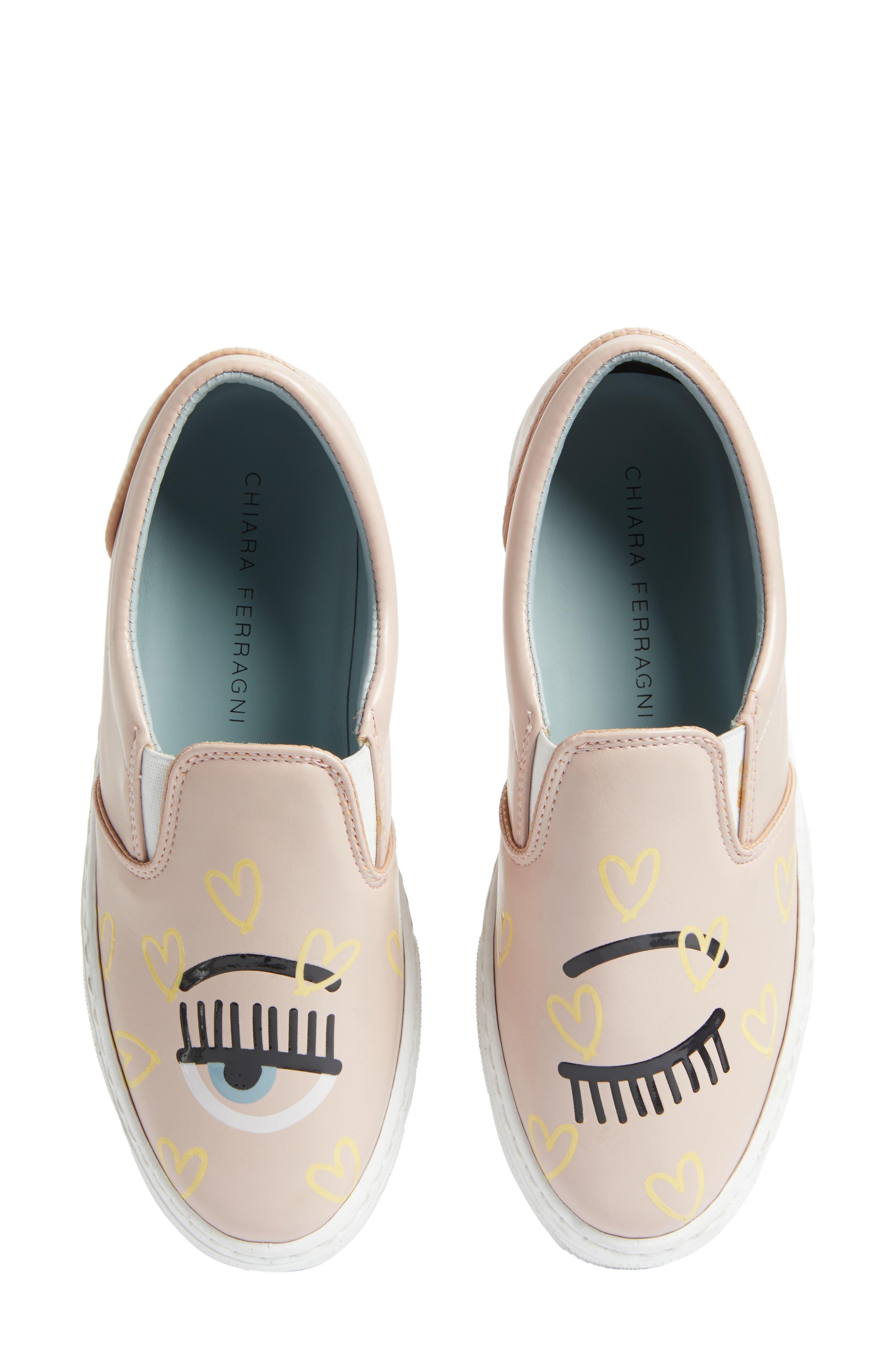 Candy Flirting Slip-On Sneaker,                             Main thumbnail 1, color,                             Pink
