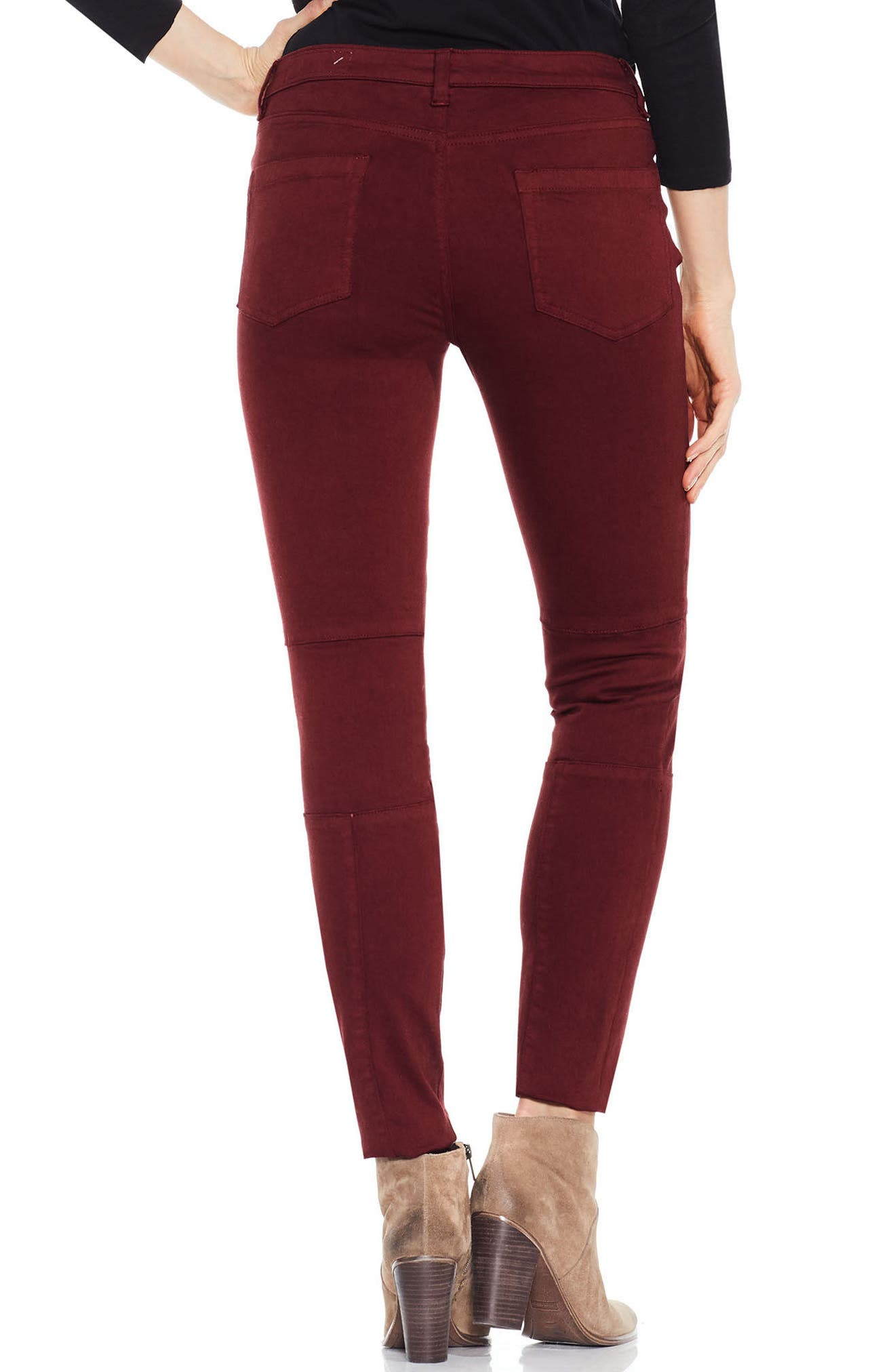 Alternate Image 2  - Two by Vince Camuto D-Luxe Twill Moto Jeans