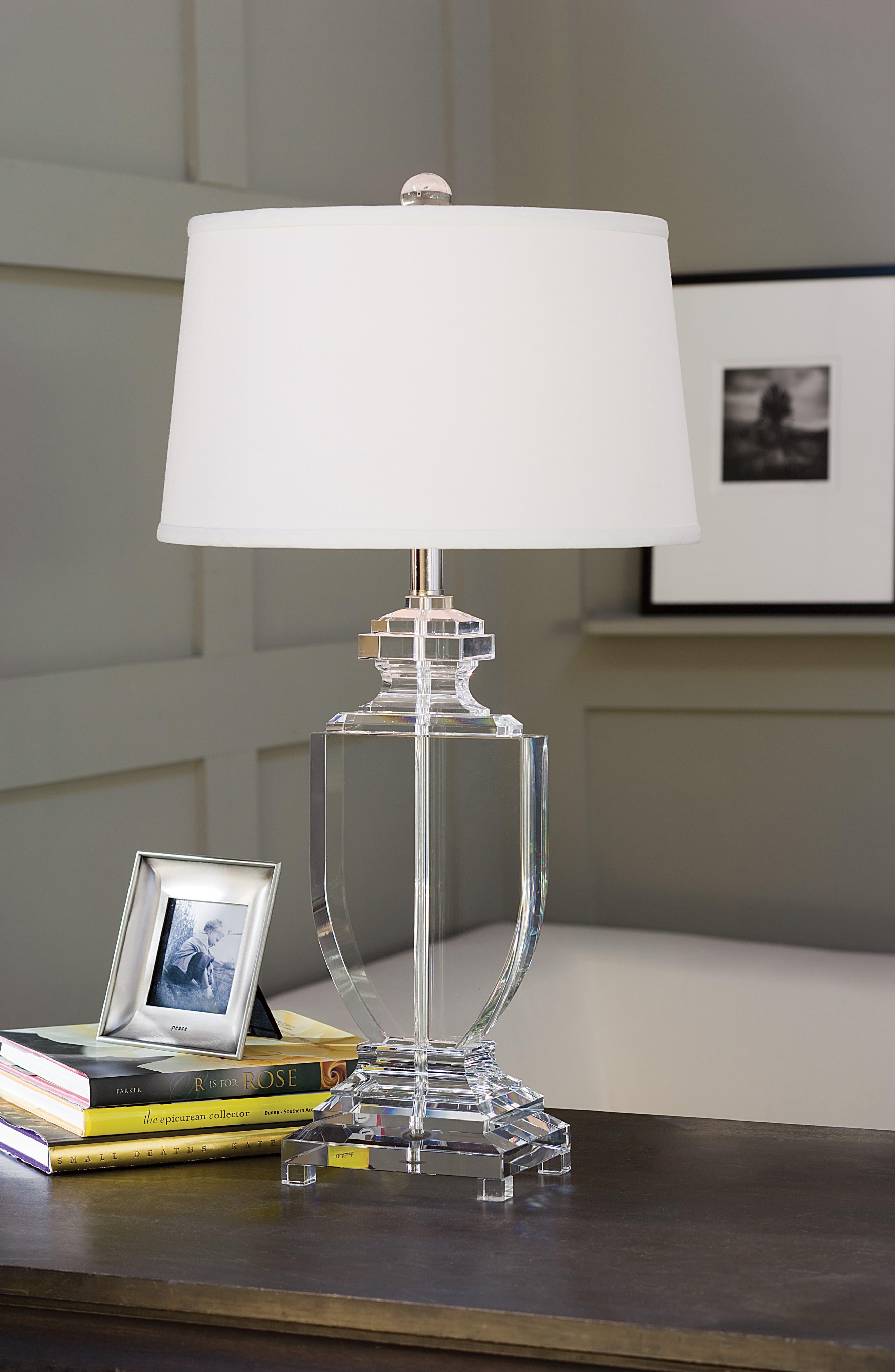 Urn Table Lamp,                             Alternate thumbnail 2, color,                             White