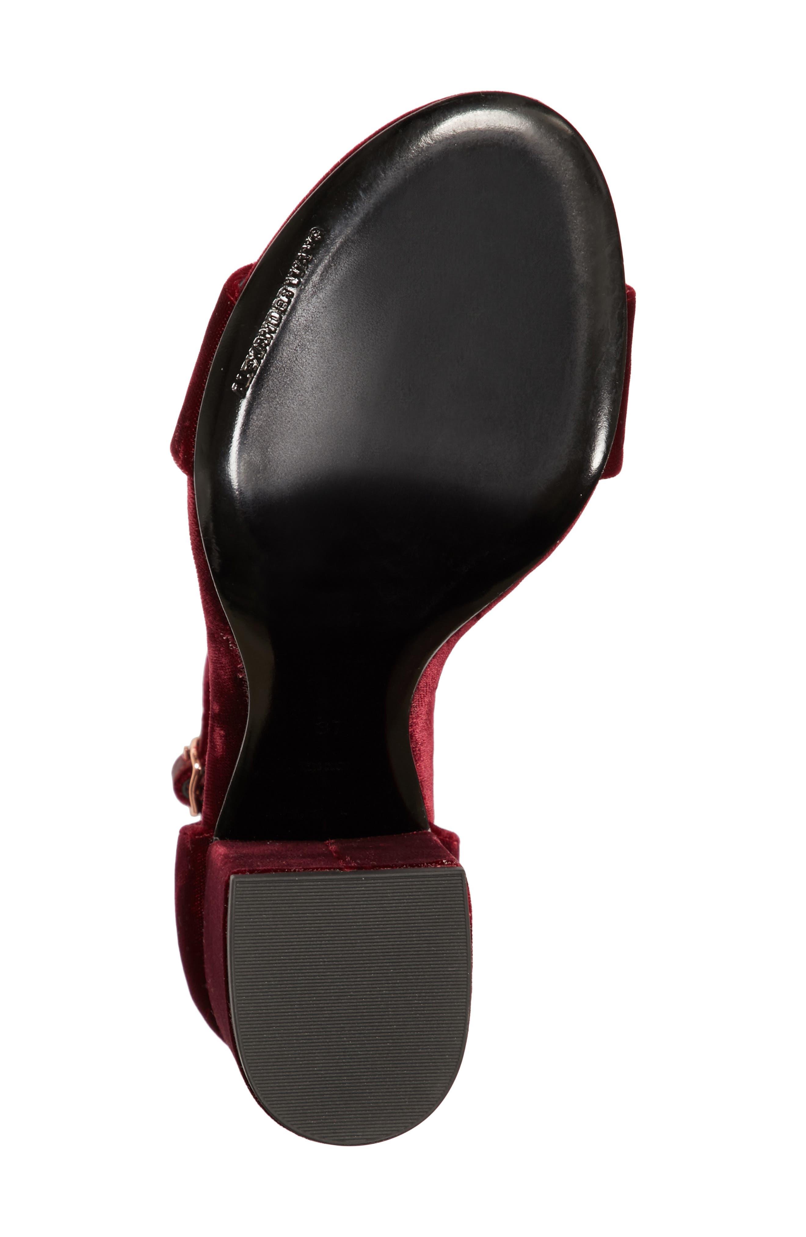 Alternate Image 6  - Alexander Wang Abby Notch Heel Sandal (Women)