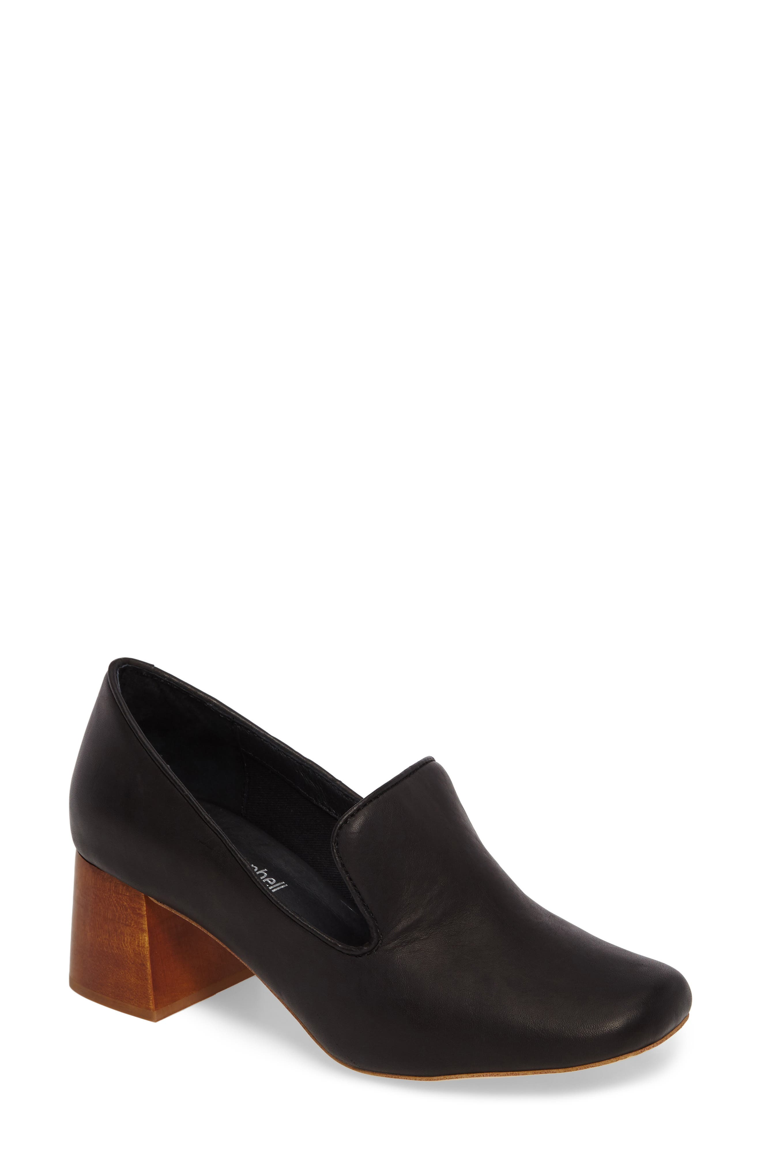 Alternate Image 1 Selected - Jeffrey Campbell Lister Flared Heel Loafer Pump (Women)