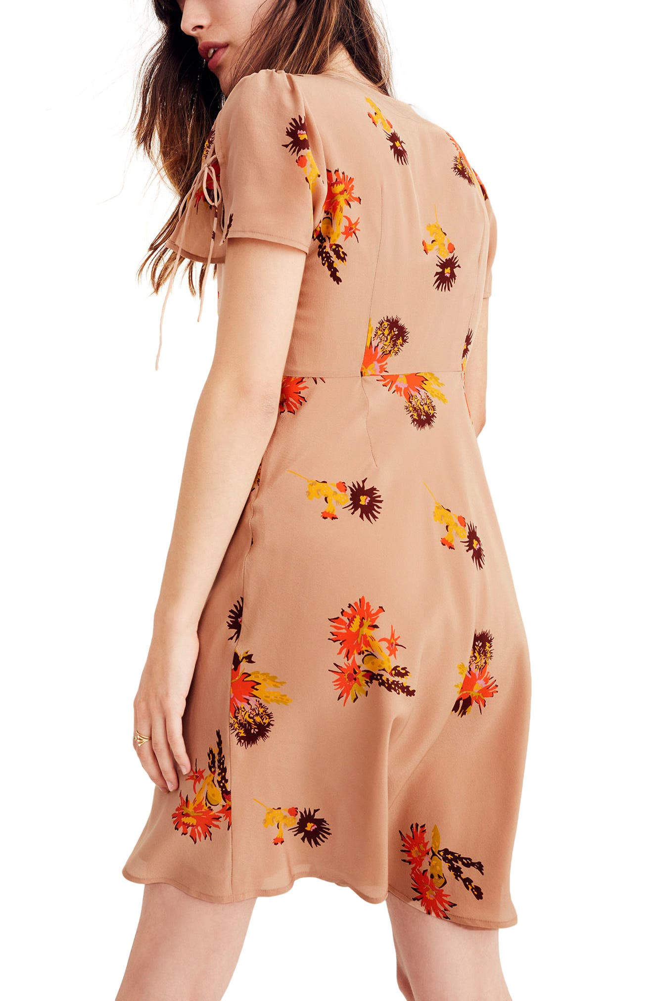 Alternate Image 3  - Madewell Cactus Flower Silk Dress