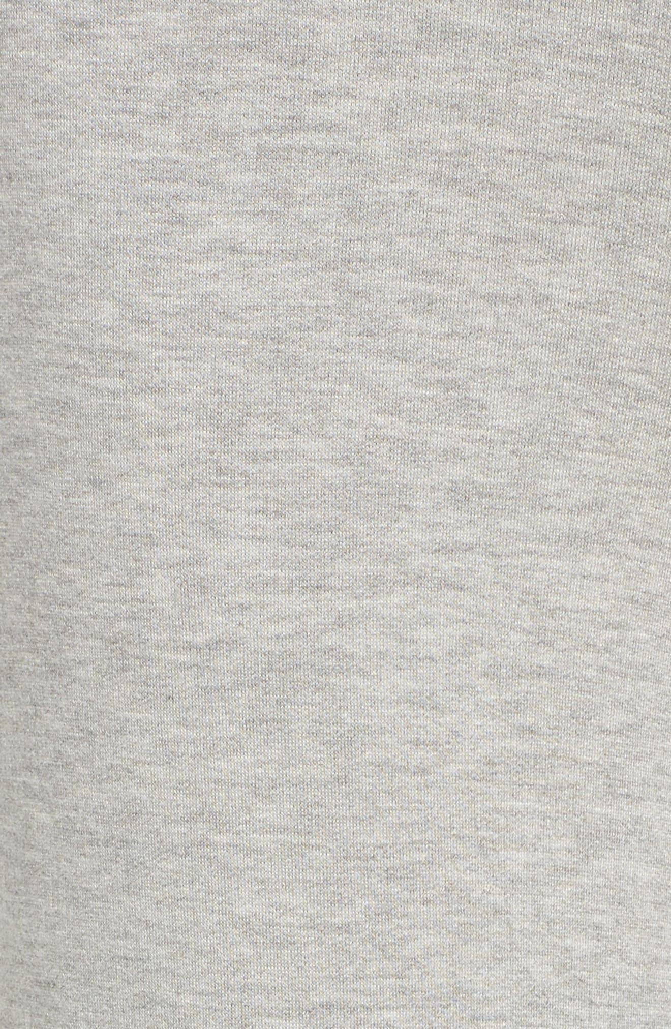 Runway Culotte Sweatpants,                             Alternate thumbnail 6, color,                             Light Heather Grey