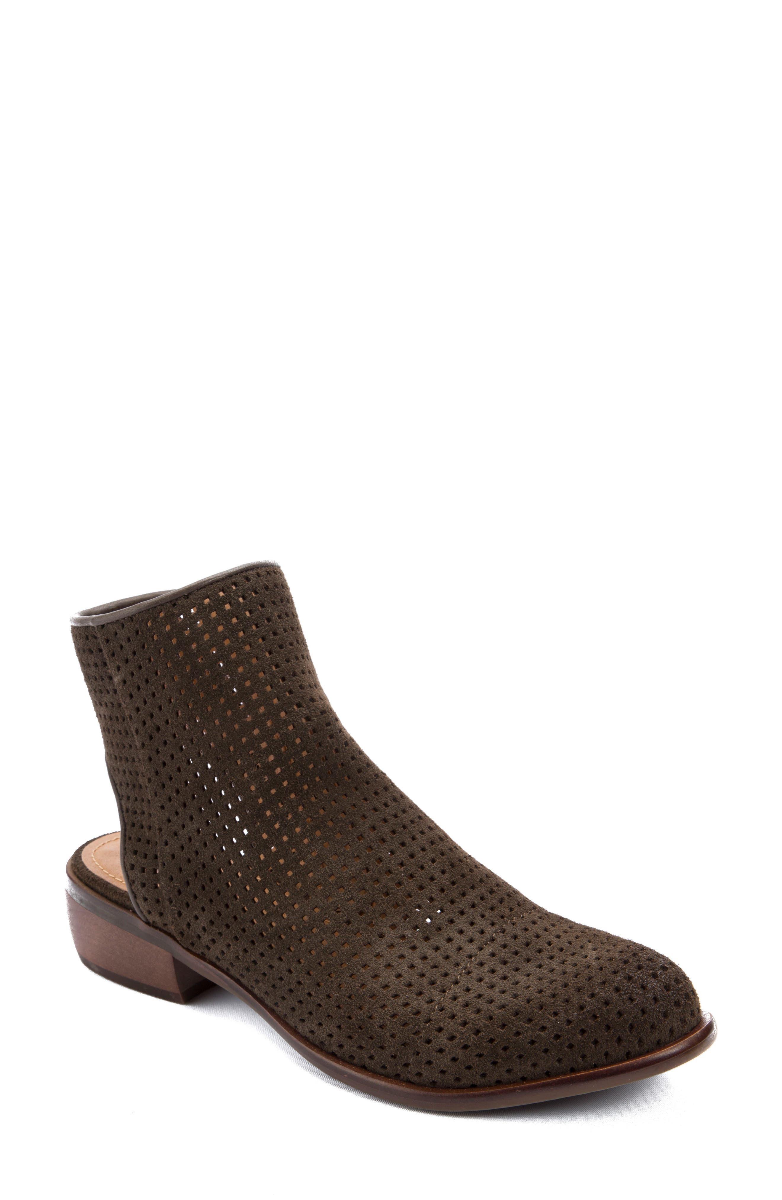 Main Image - Latigo Izadore Perforated Open Heel Bootie (Women)
