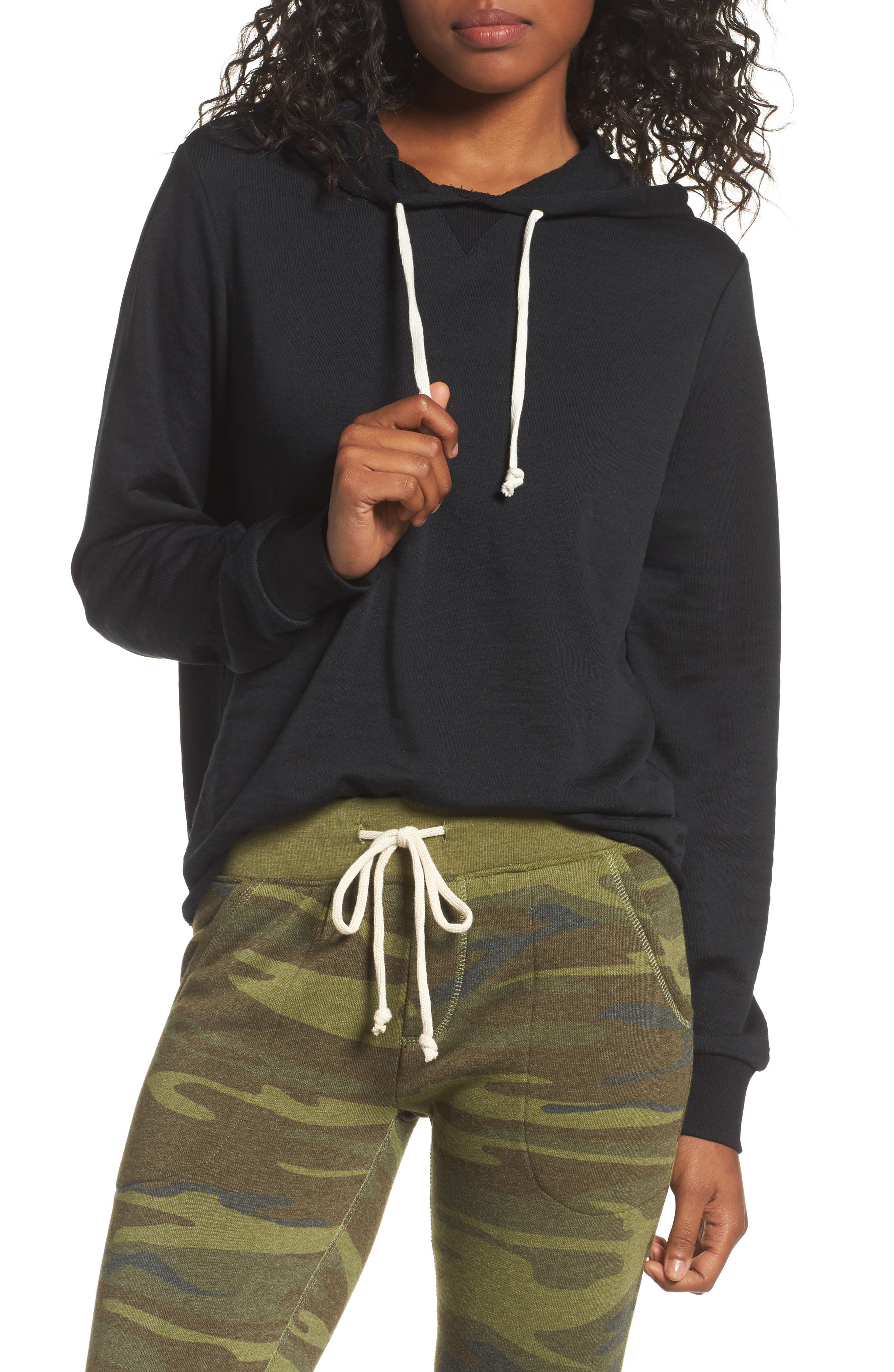 Day Off Hoodie,                         Main,                         color, Black