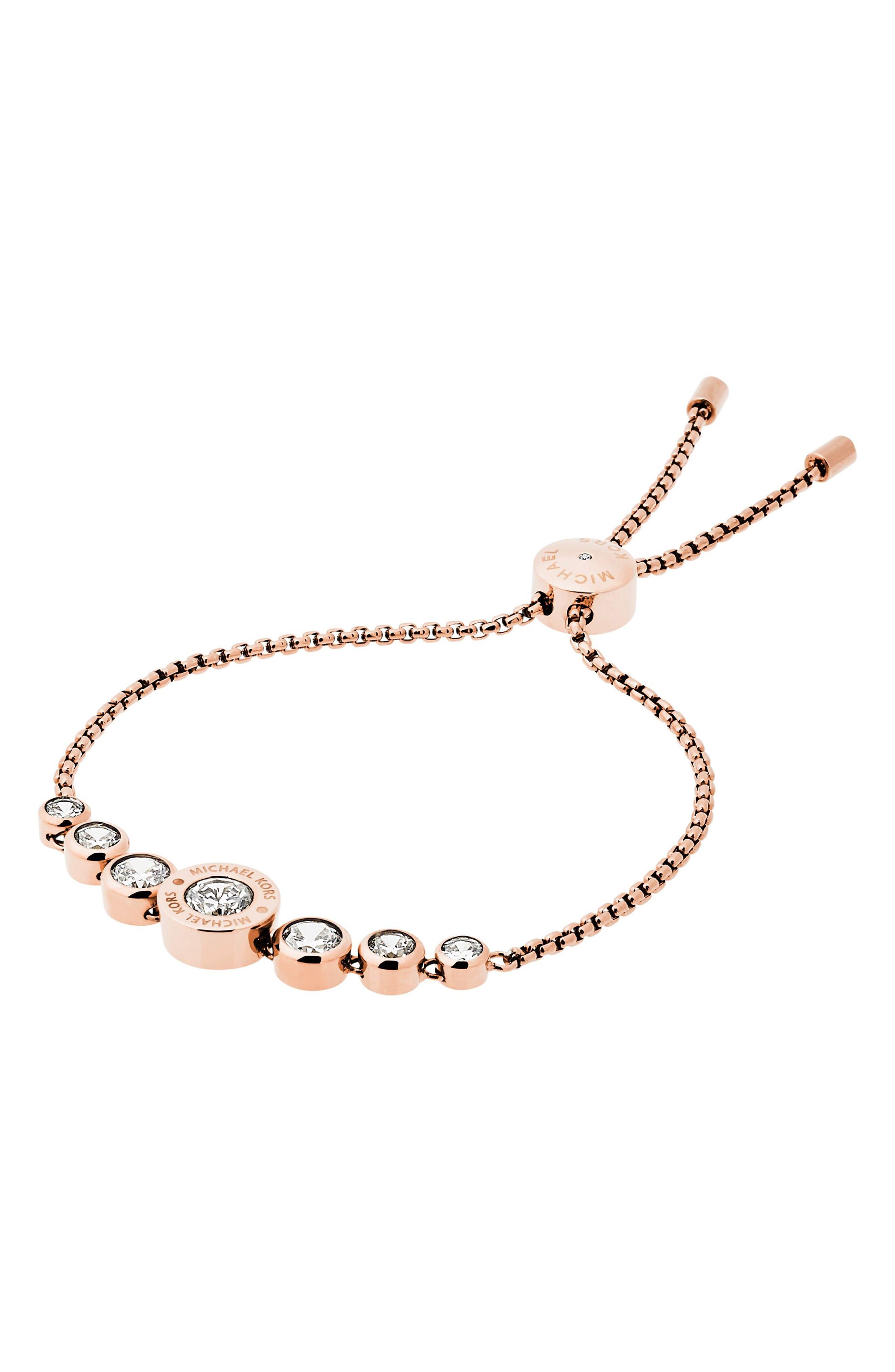 Alternate Image 1 Selected - Michael Kors Crystal Bracelet
