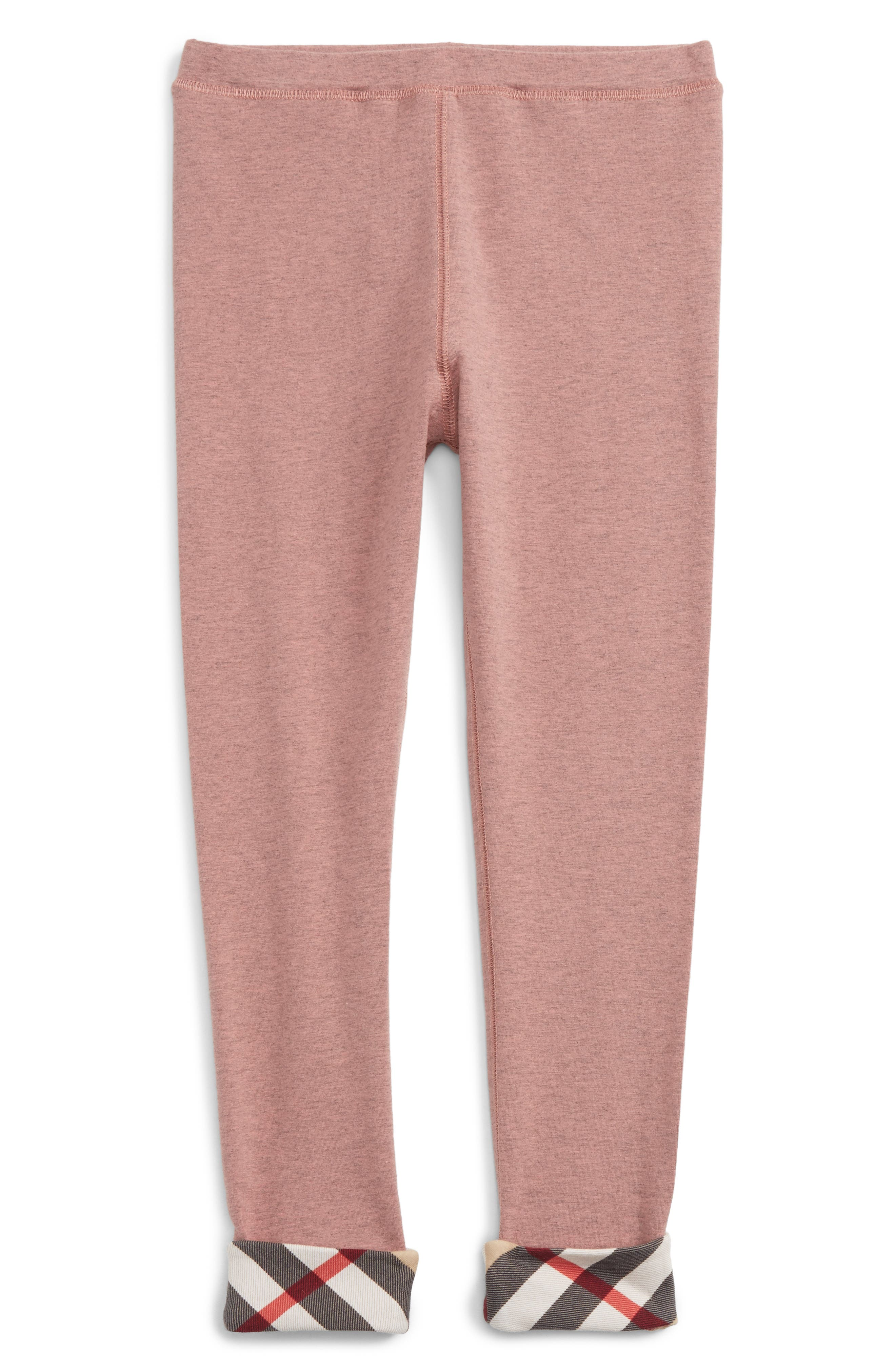Penny Leggings,                             Main thumbnail 1, color,                             Pale Pink Melange