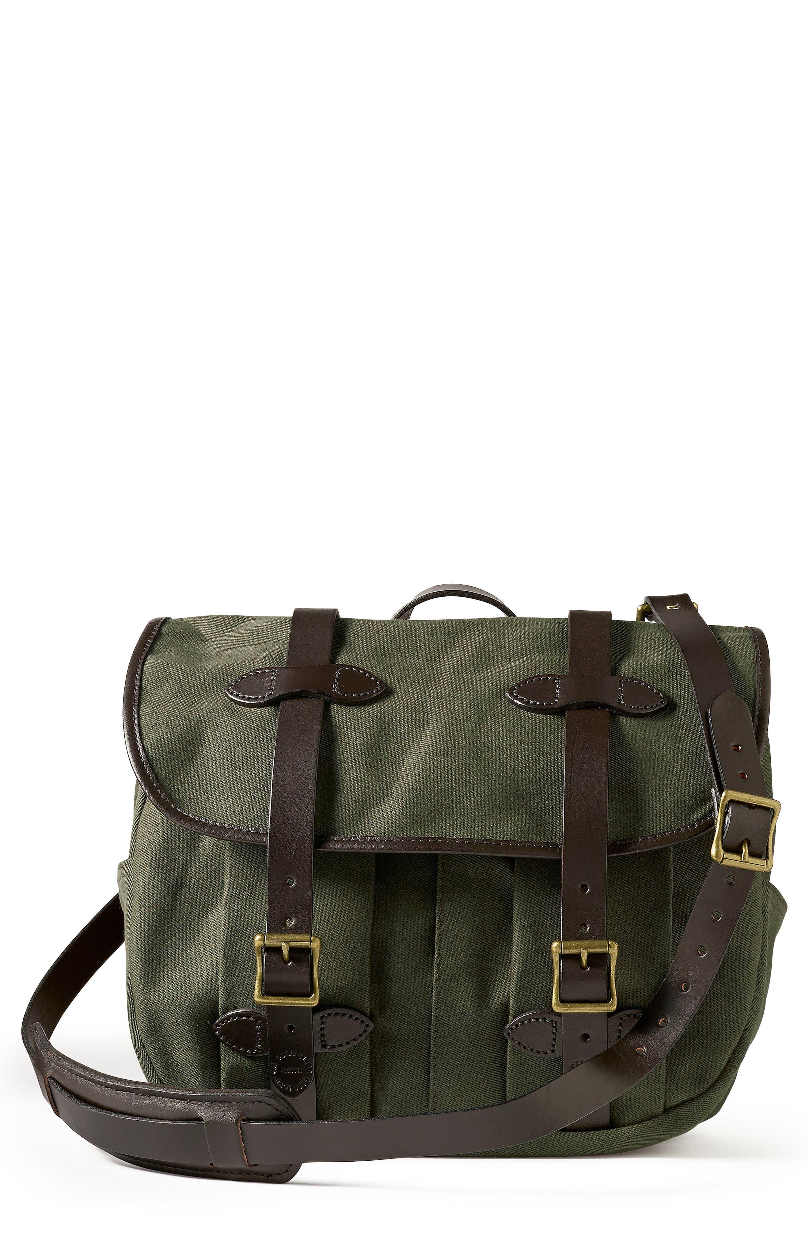 Medium Field Bag,                             Main thumbnail 1, color,                             Otter Green