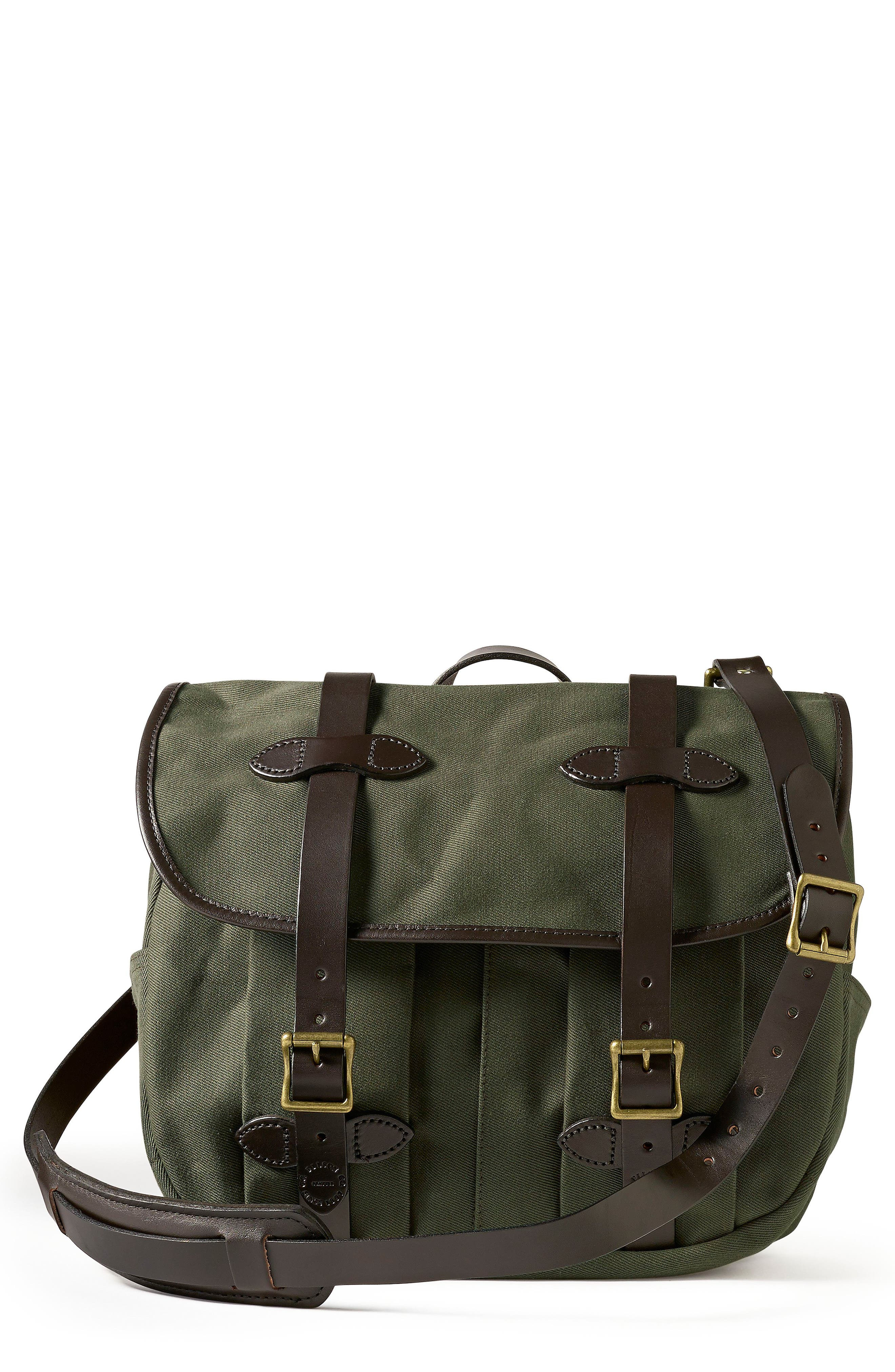 Medium Field Bag,                         Main,                         color, Otter Green