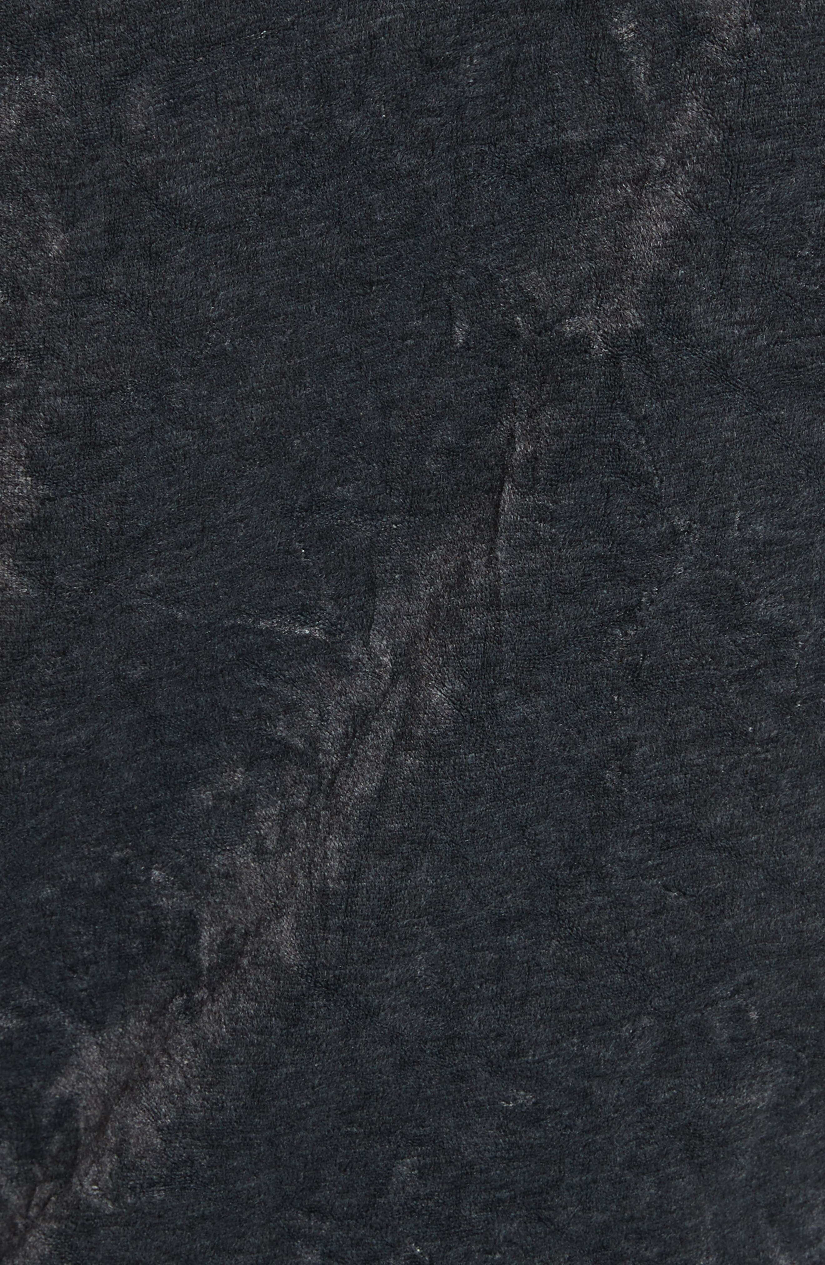 We The Free Milan Velvet Top,                             Alternate thumbnail 5, color,                             Grey