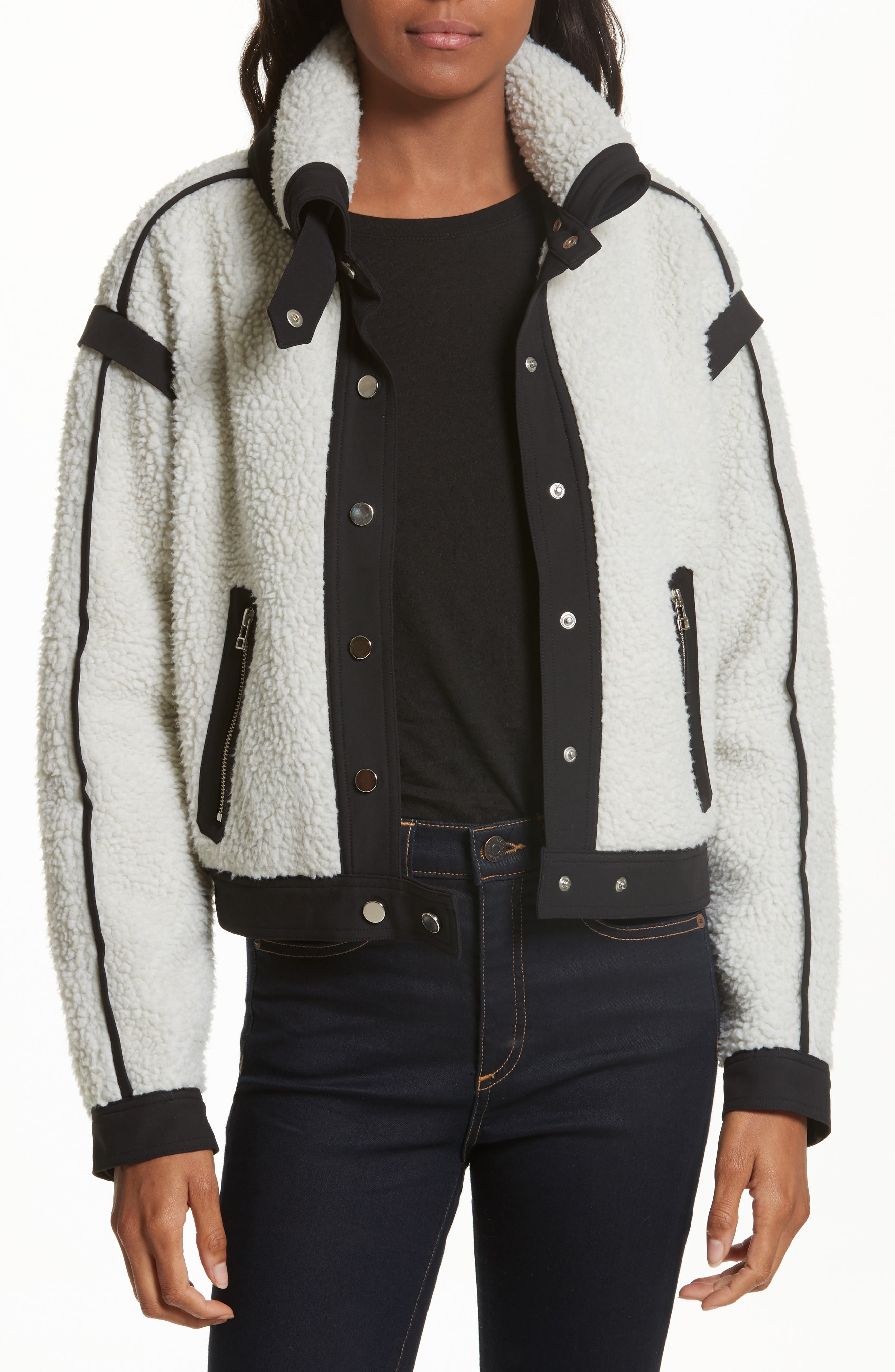 Veronica Beard Anita Fleece Jacket