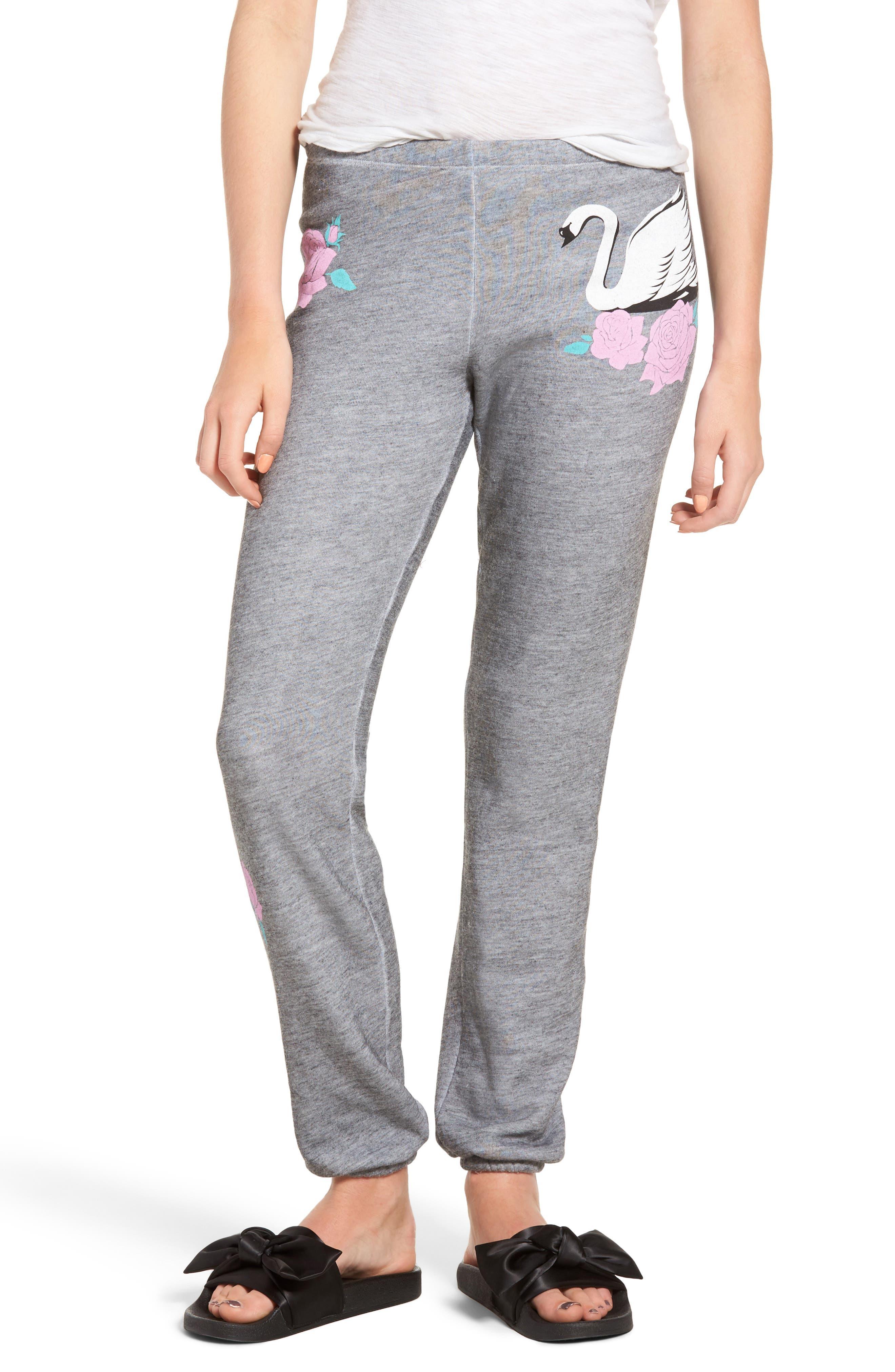 Knox - Swans Crossing Sweatpants,                         Main,                         color, Heather Burnout