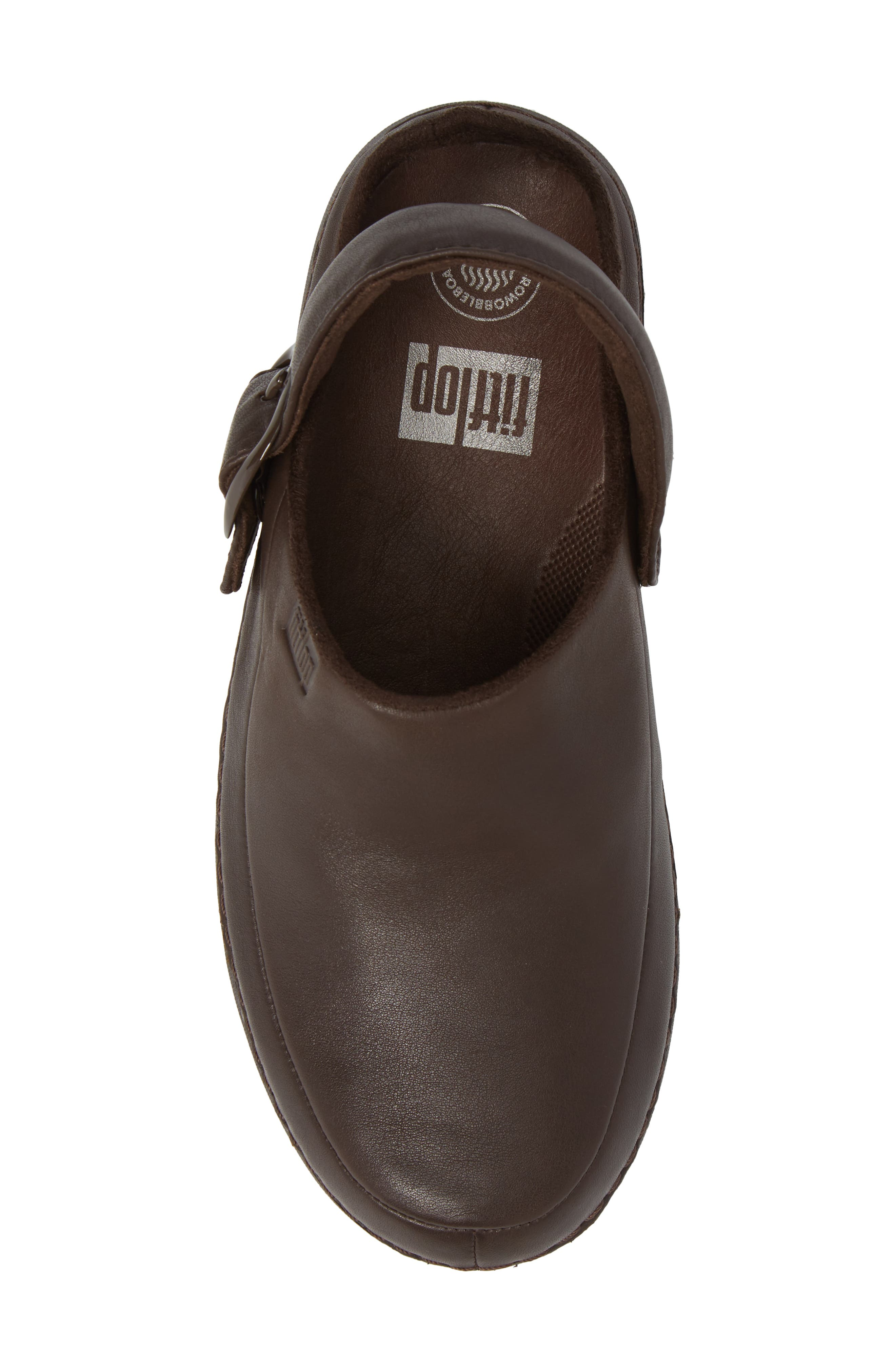 Gogh Pro - Superlight Clog,                             Alternate thumbnail 5, color,                             Chocolate Brown Leather