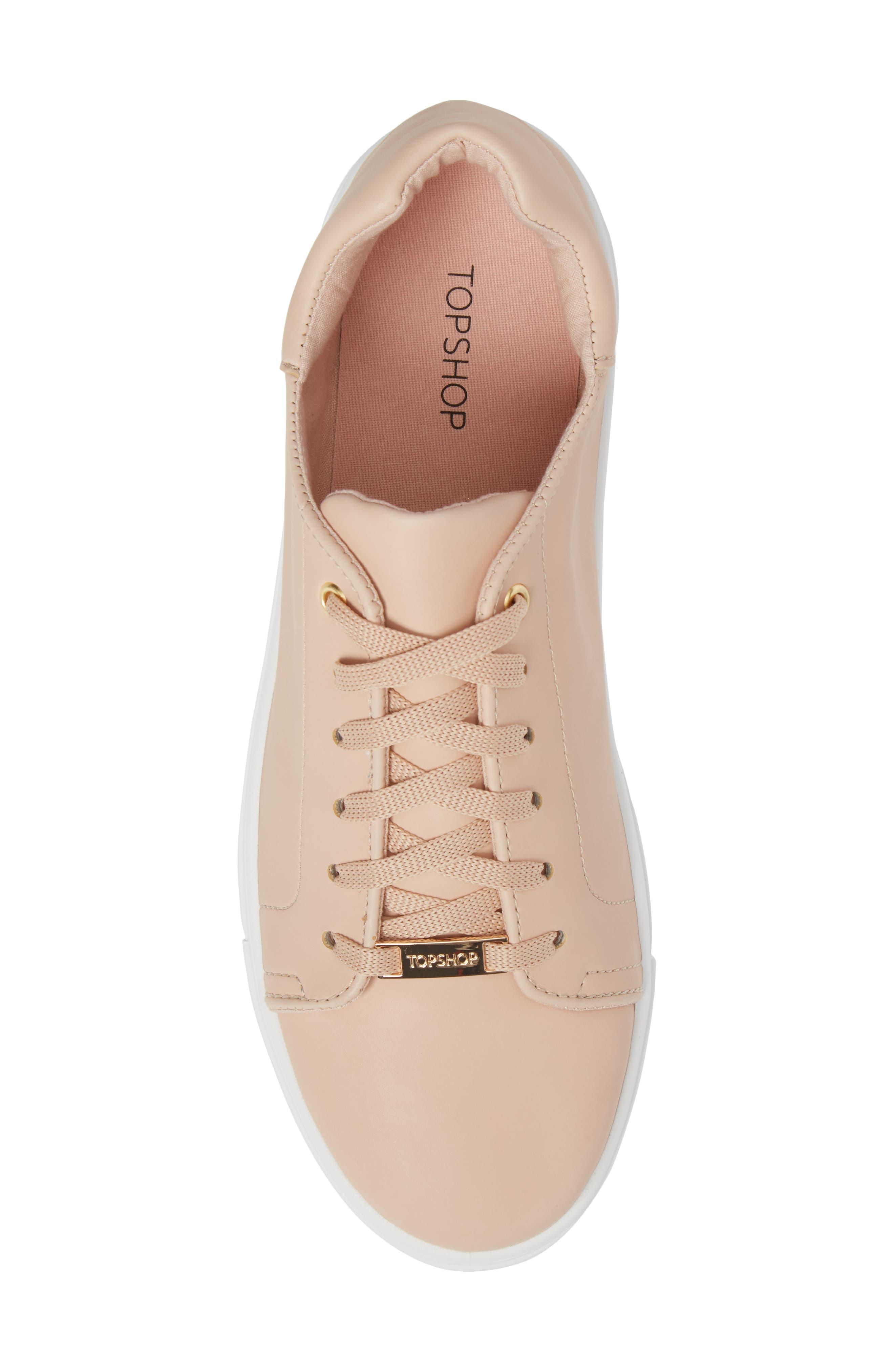 Alternate Image 5  - Topshop Cluster Sneaker (Women)