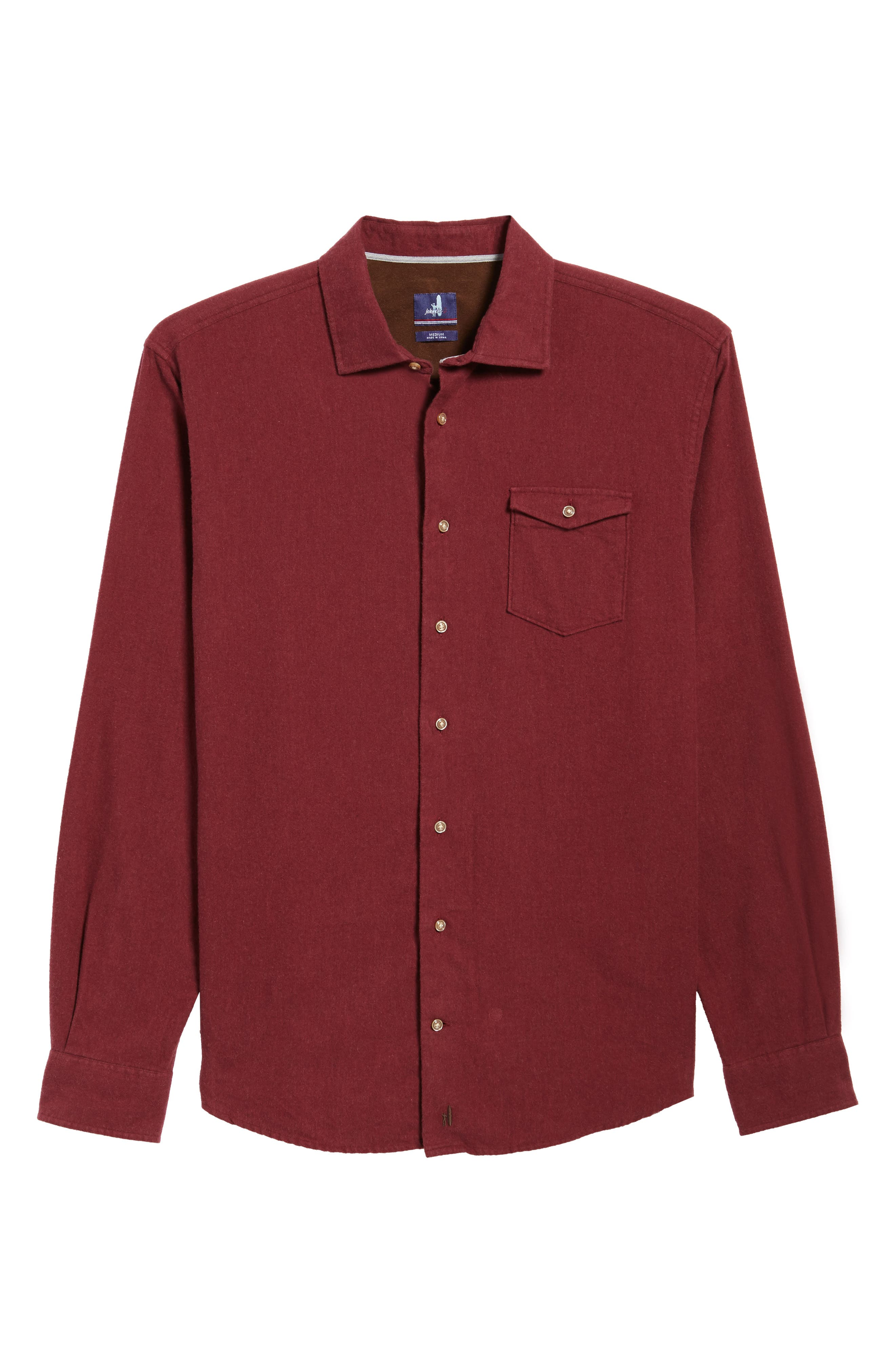 Alternate Image 6  - johnnie-O Patch Classic Fit Sport Shirt