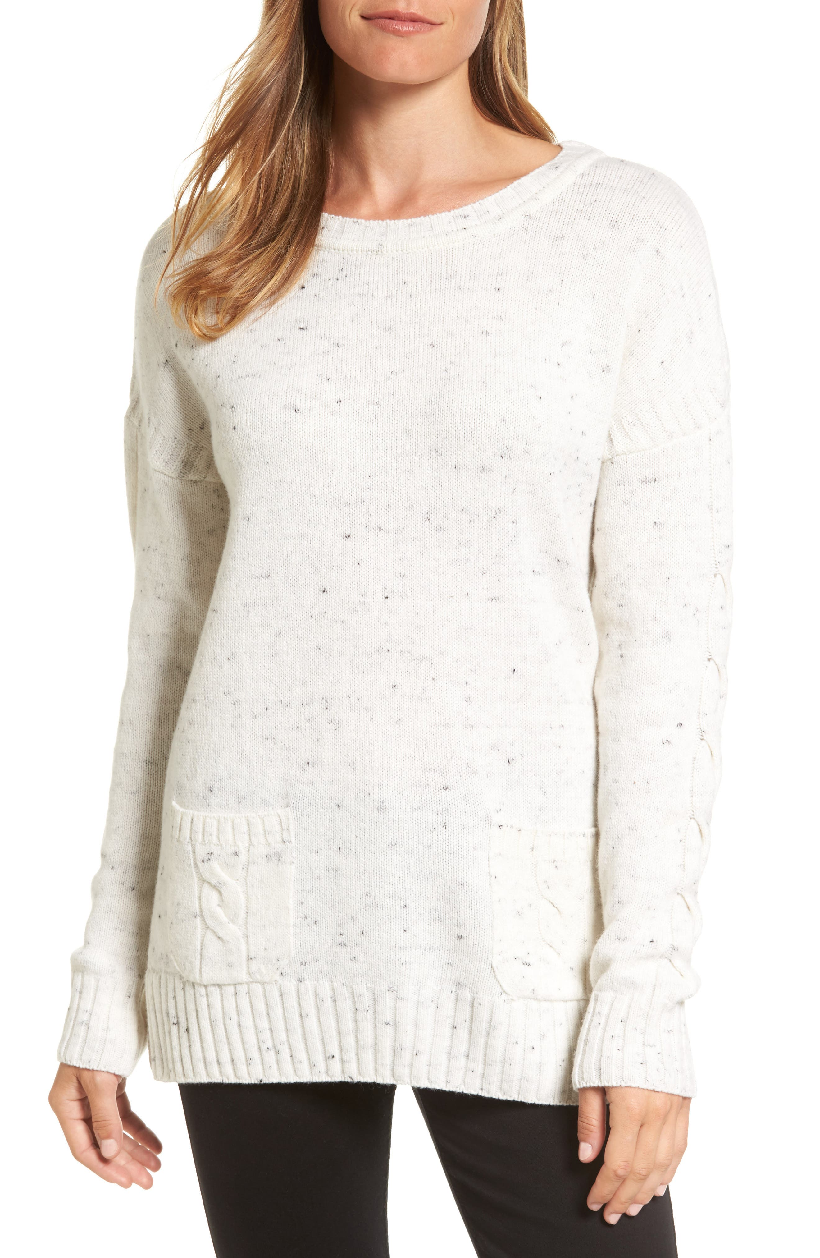 Barbour Priory Wool Blend Tunic Sweater