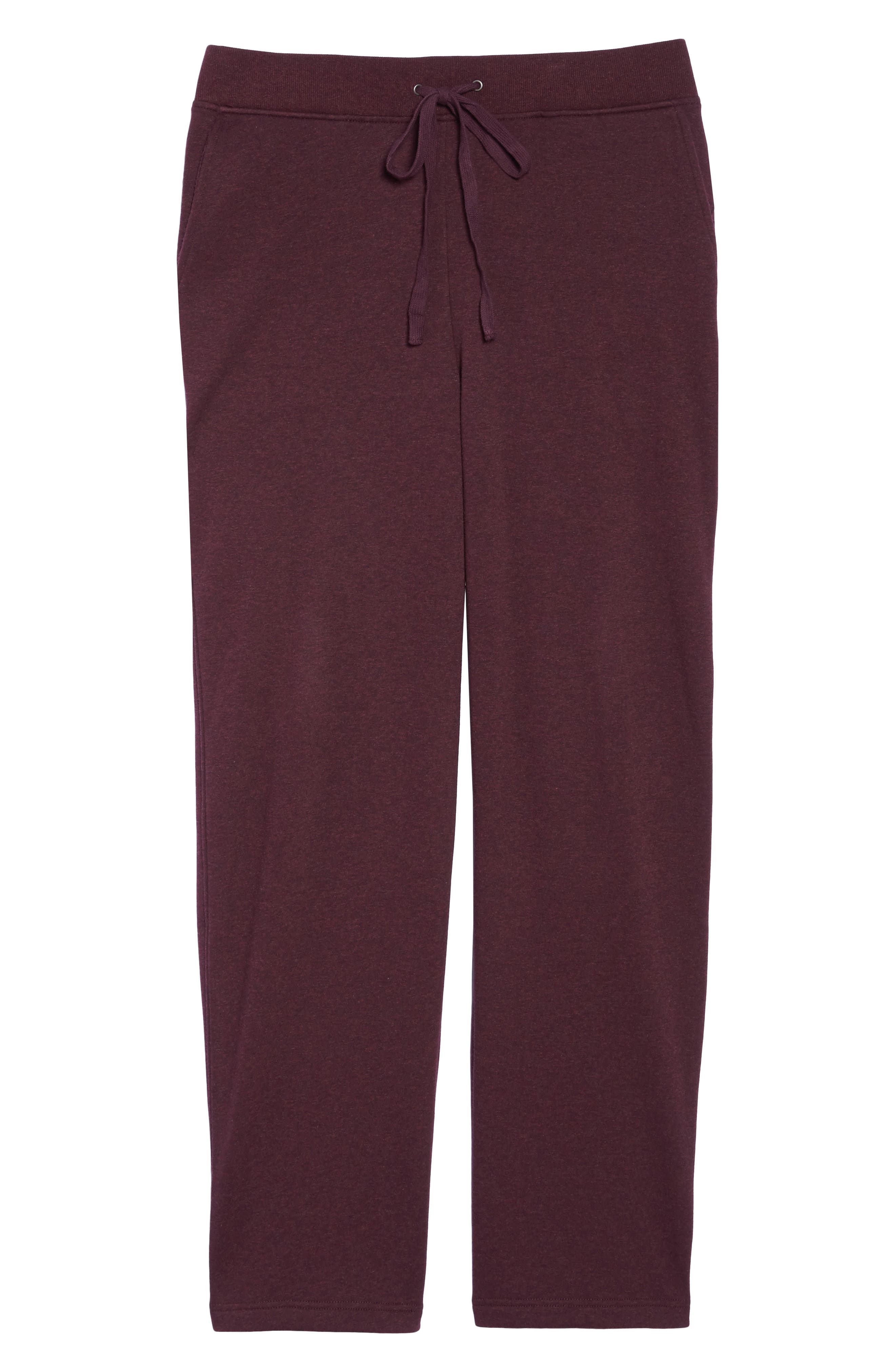 Alternate Image 4  - UGG® Penny Fleece Sweatpants (Plus Size)