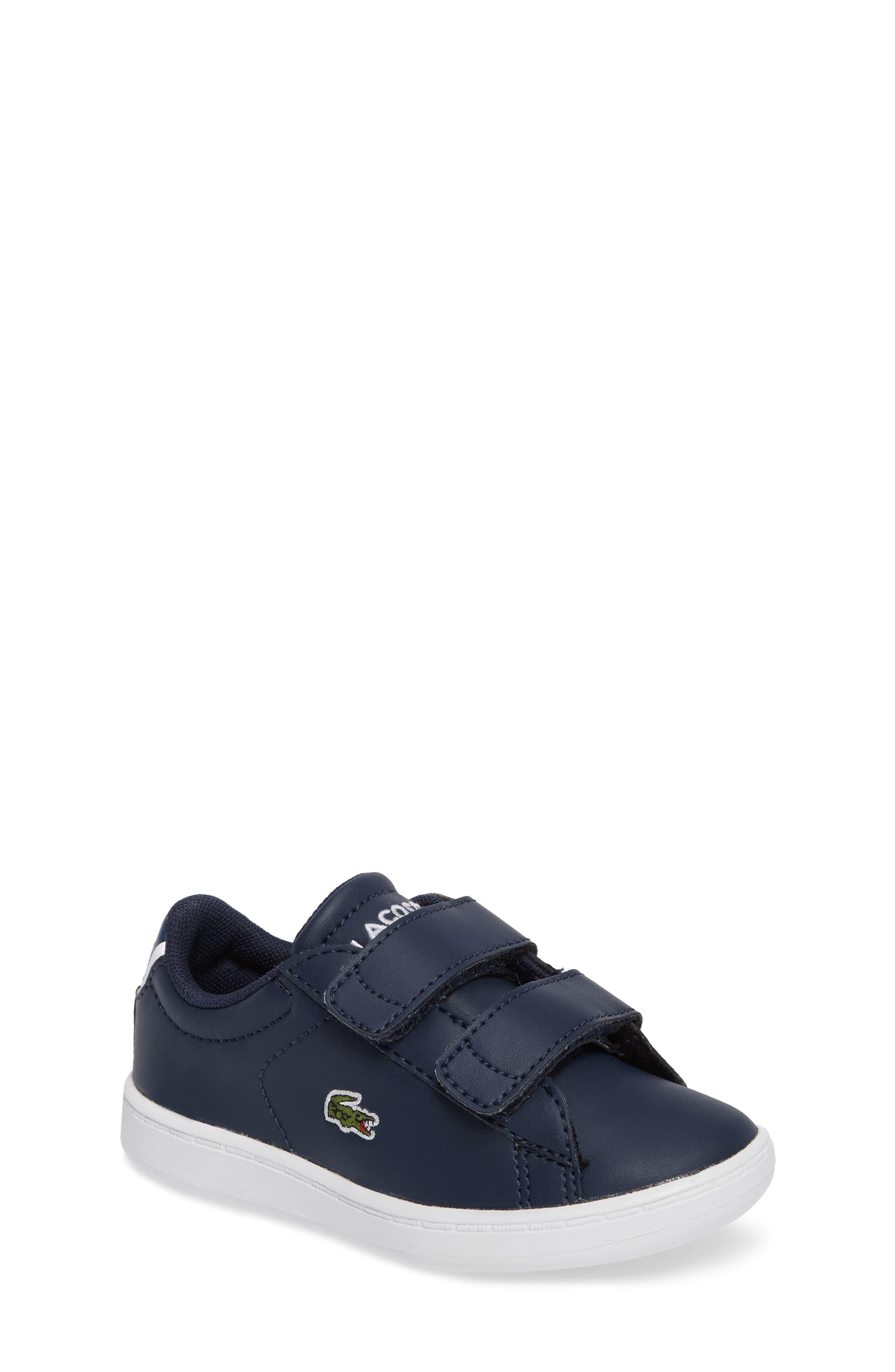 Alternate Image 1 Selected - Lacoste Carnaby Evo Sneaker (Baby, Walker, Toddler & Little Kid)