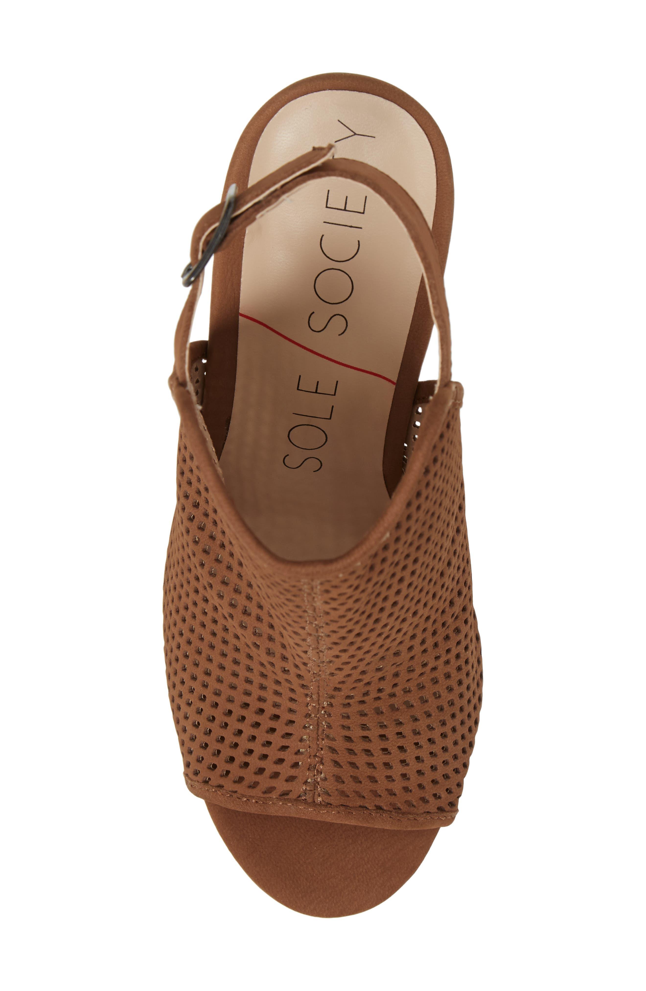 Alternate Image 5  - Sole Society Bombay Perforated Sandal (Women)