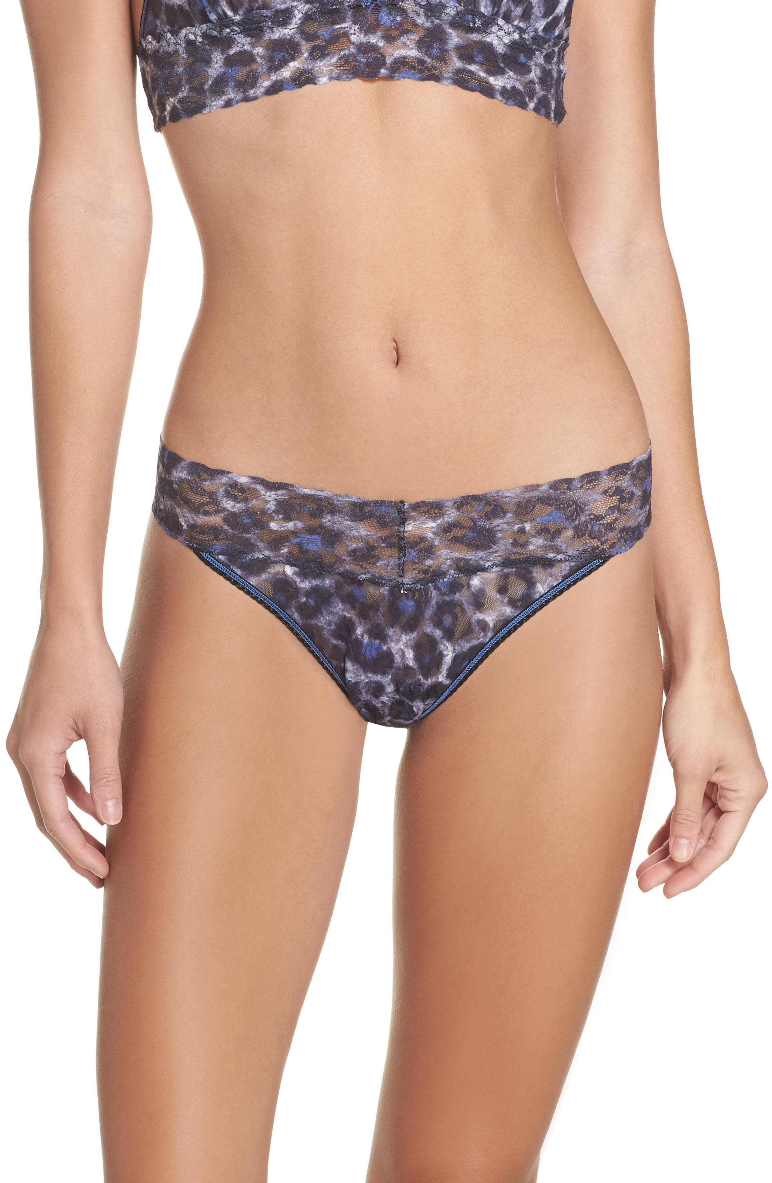 Alternate Image 1 Selected - Hanky Panky Mysterious Feline Original Rise Thong