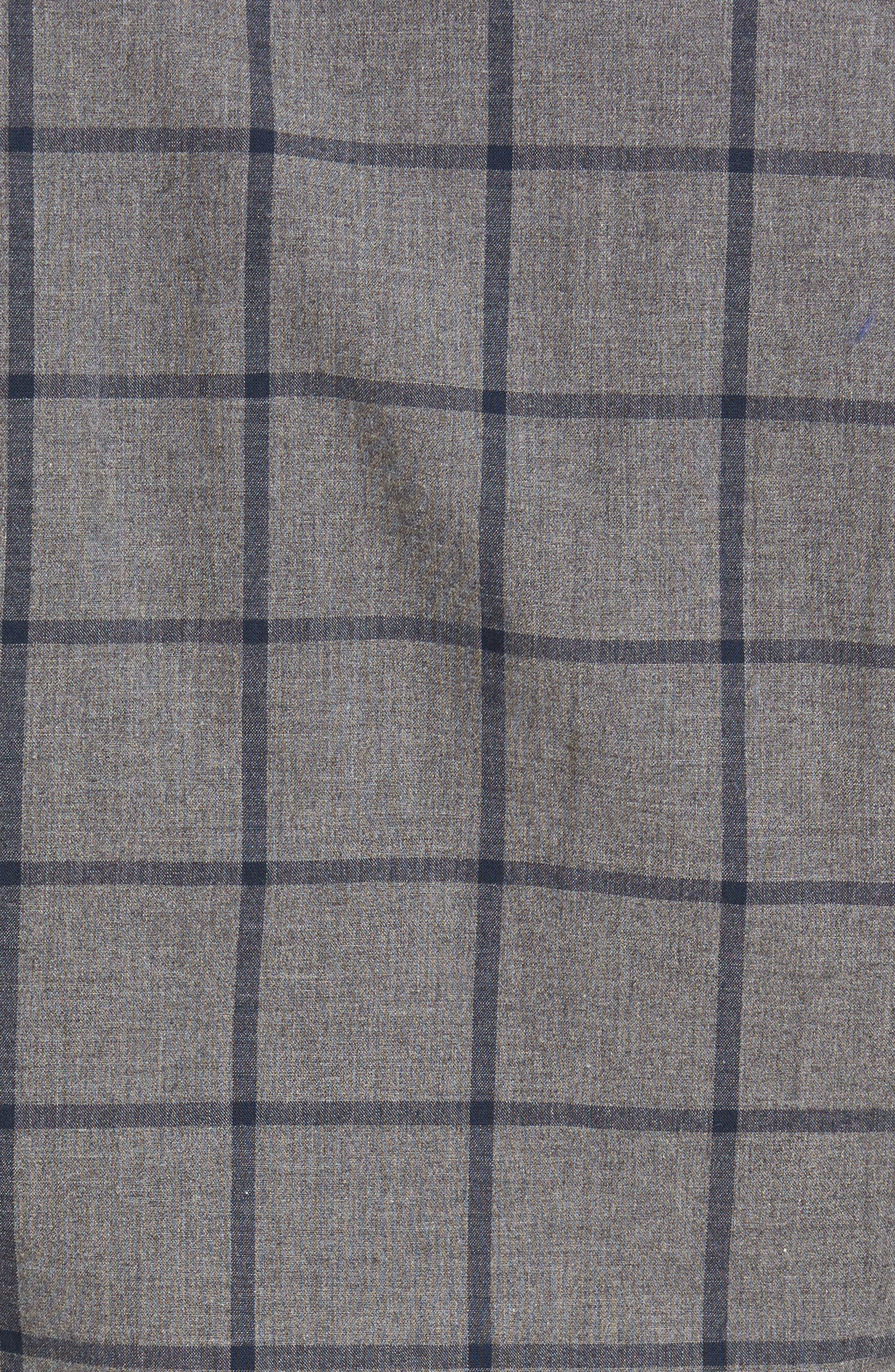Alternate Image 5  - Barbour Baxter Tattersall Sport Shirt