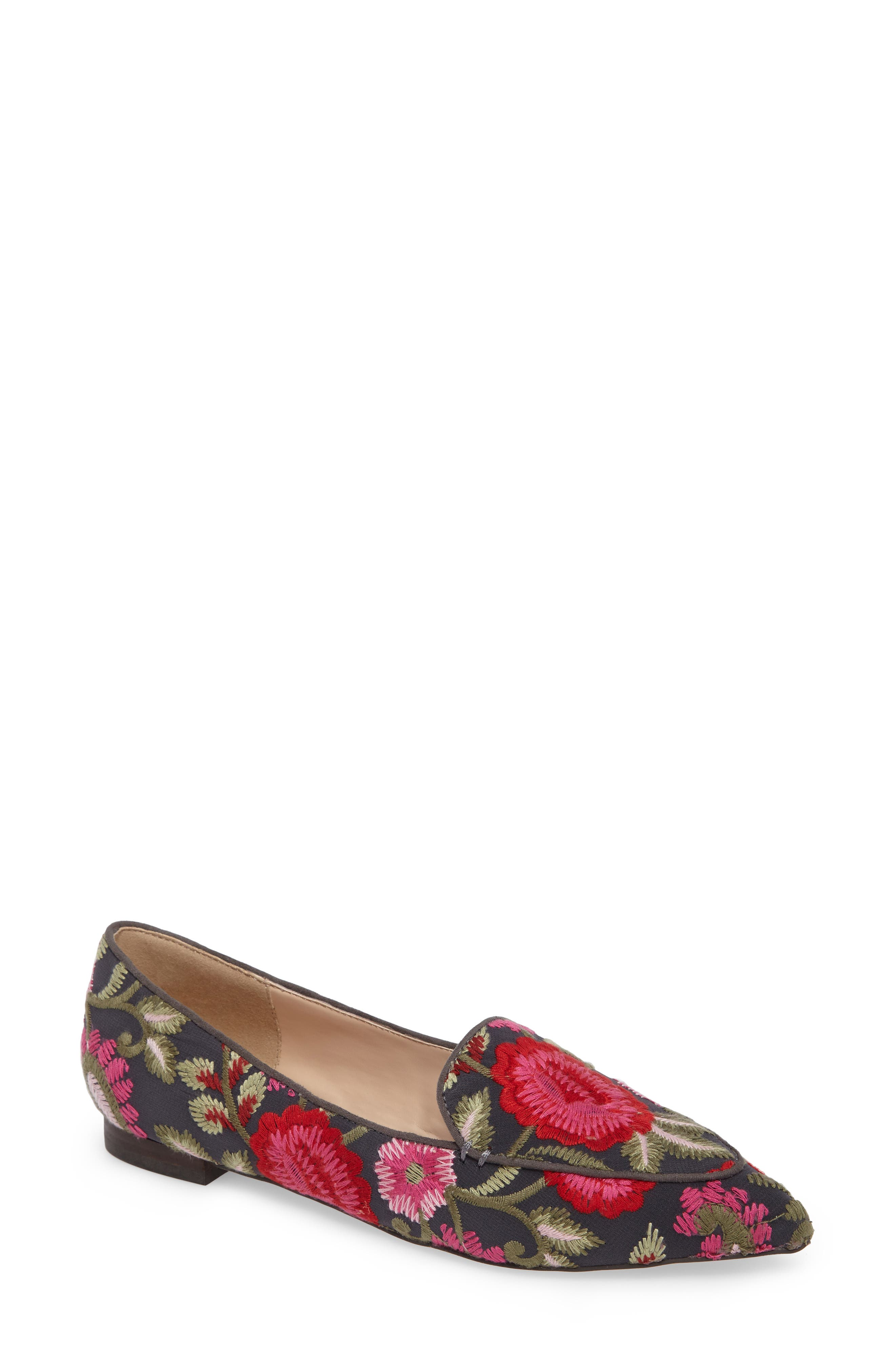 Sole Society 'Cammila' Pointy Toe Loafer (Women)